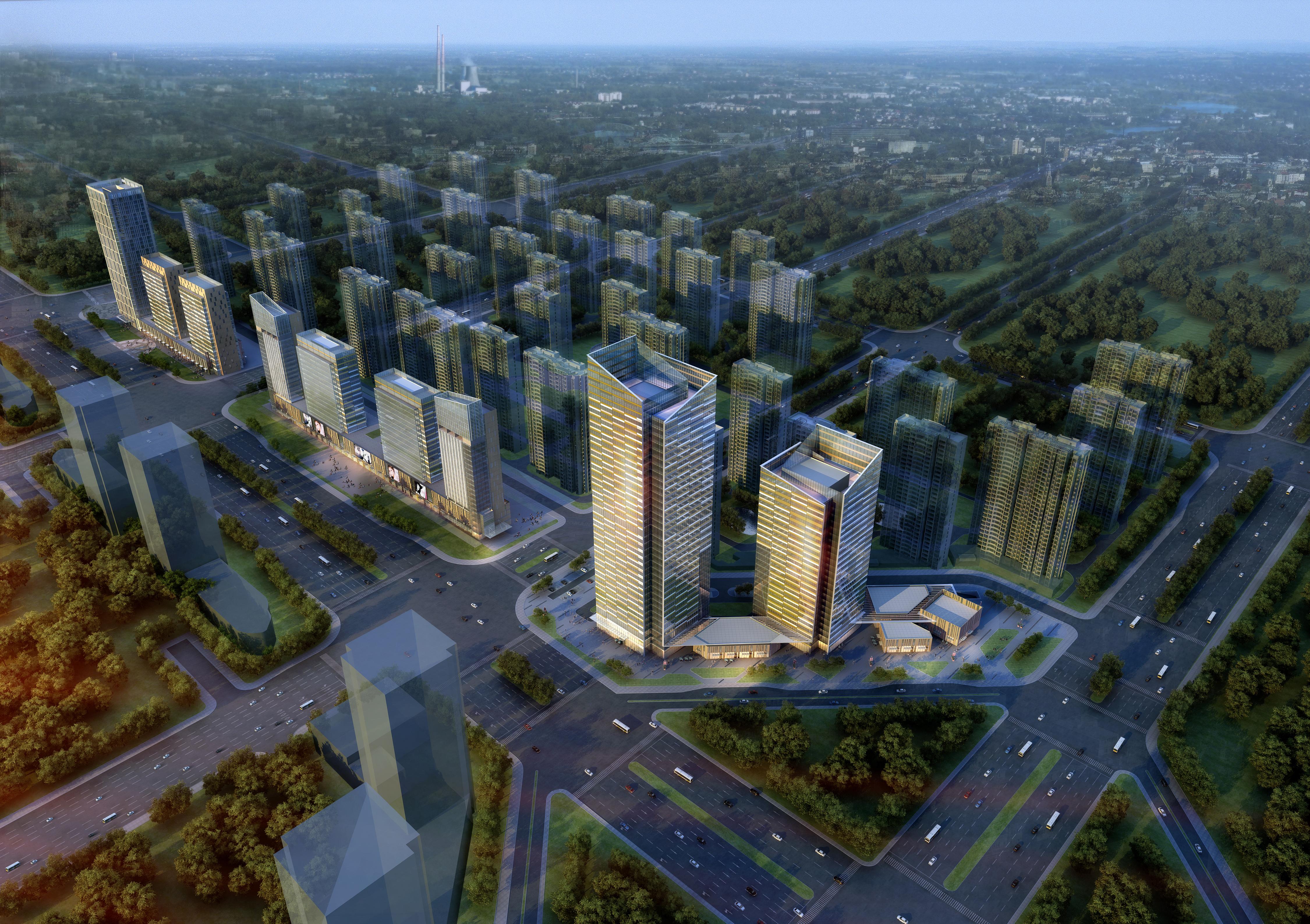 skyscraper office building 010 3d model max 206293