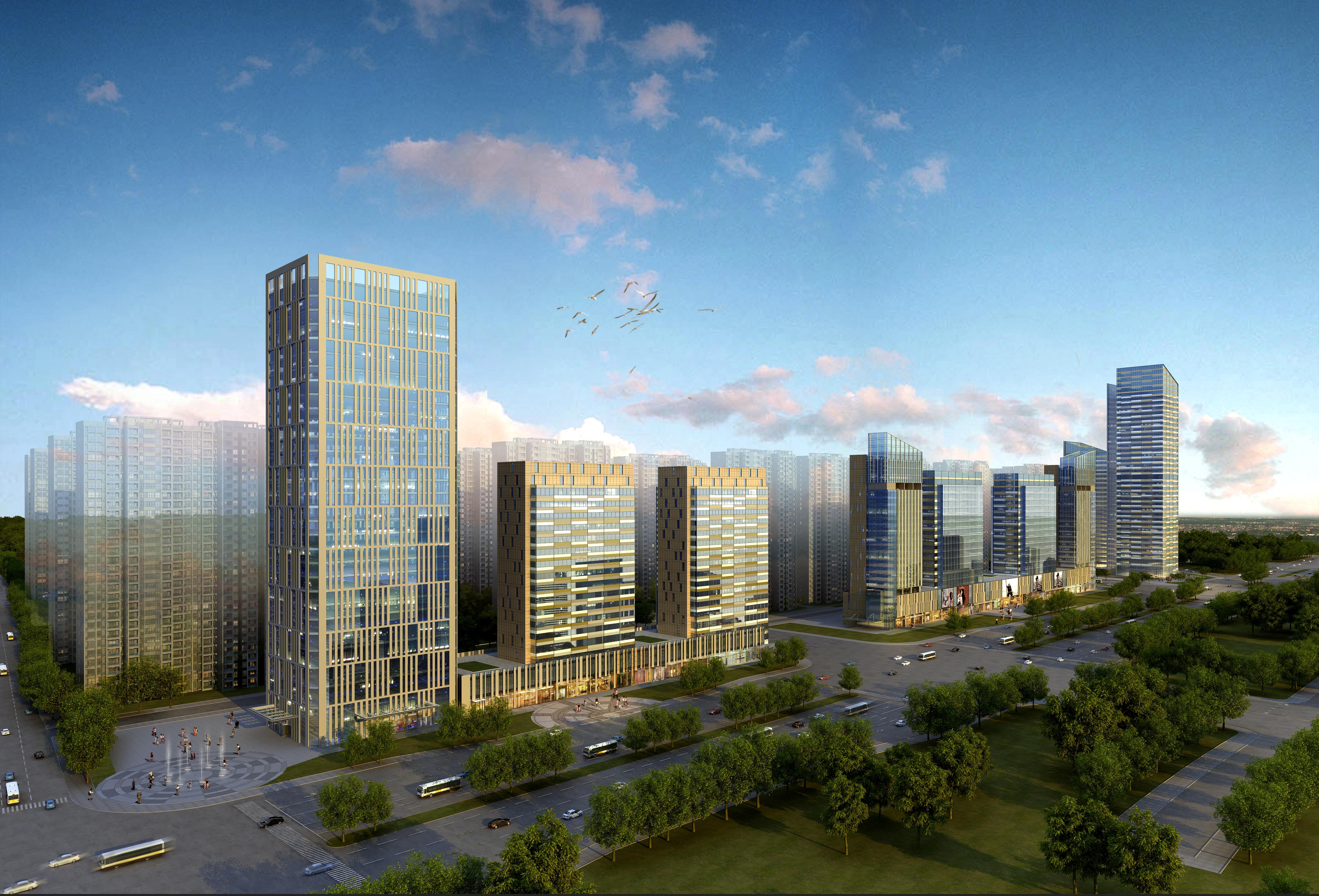 skyscraper office building 010 3d model max 206294