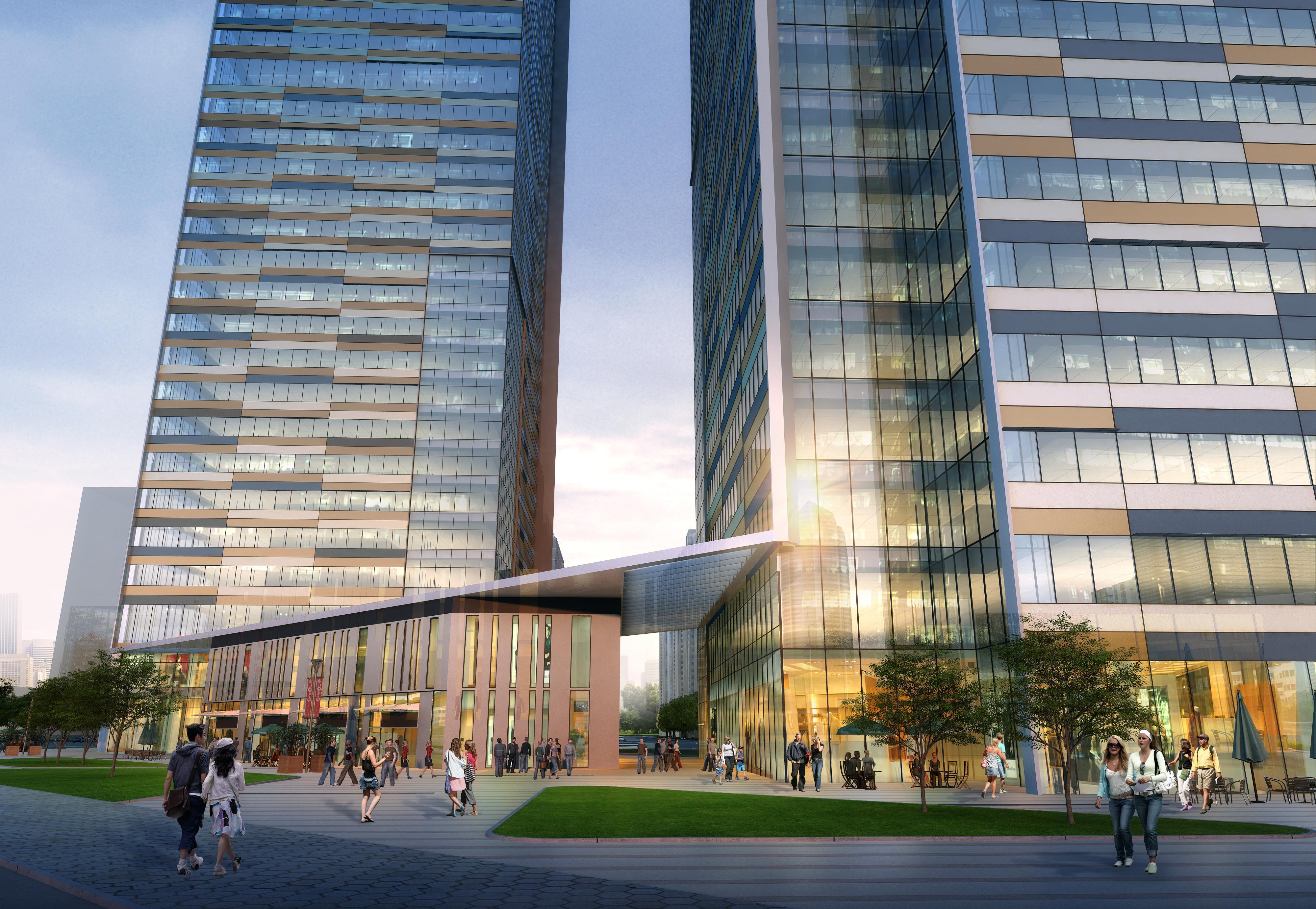 skyscraper office building 010 3d model max 206295