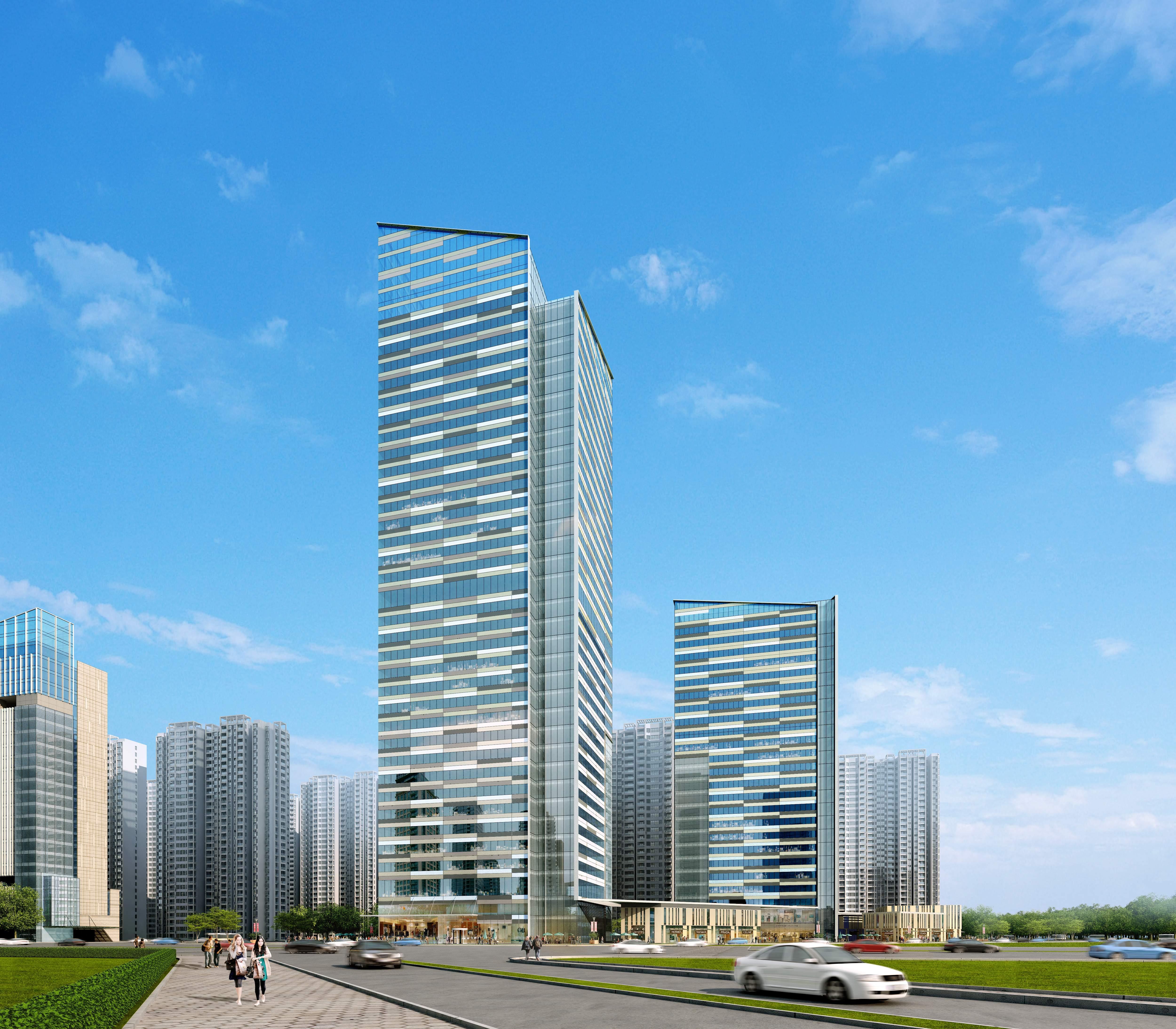 skyscraper office building 010 3d model max 206296