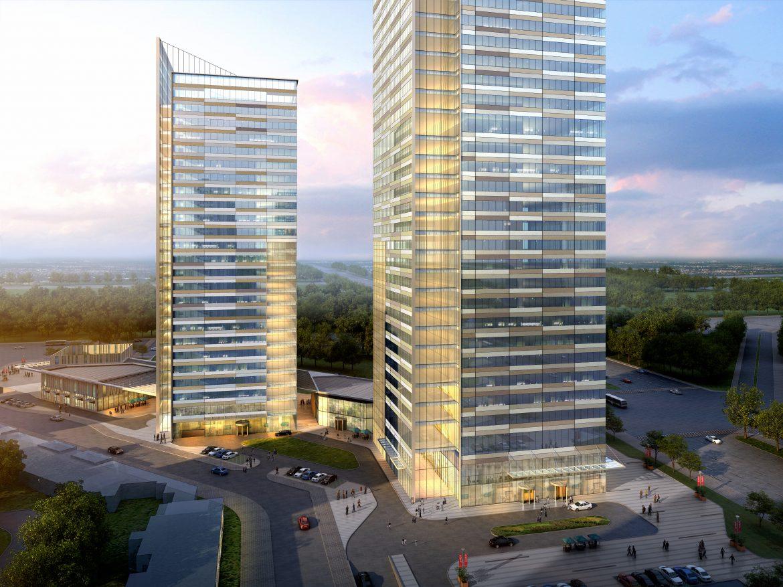 skyscraper office building 010 3d model max 206297