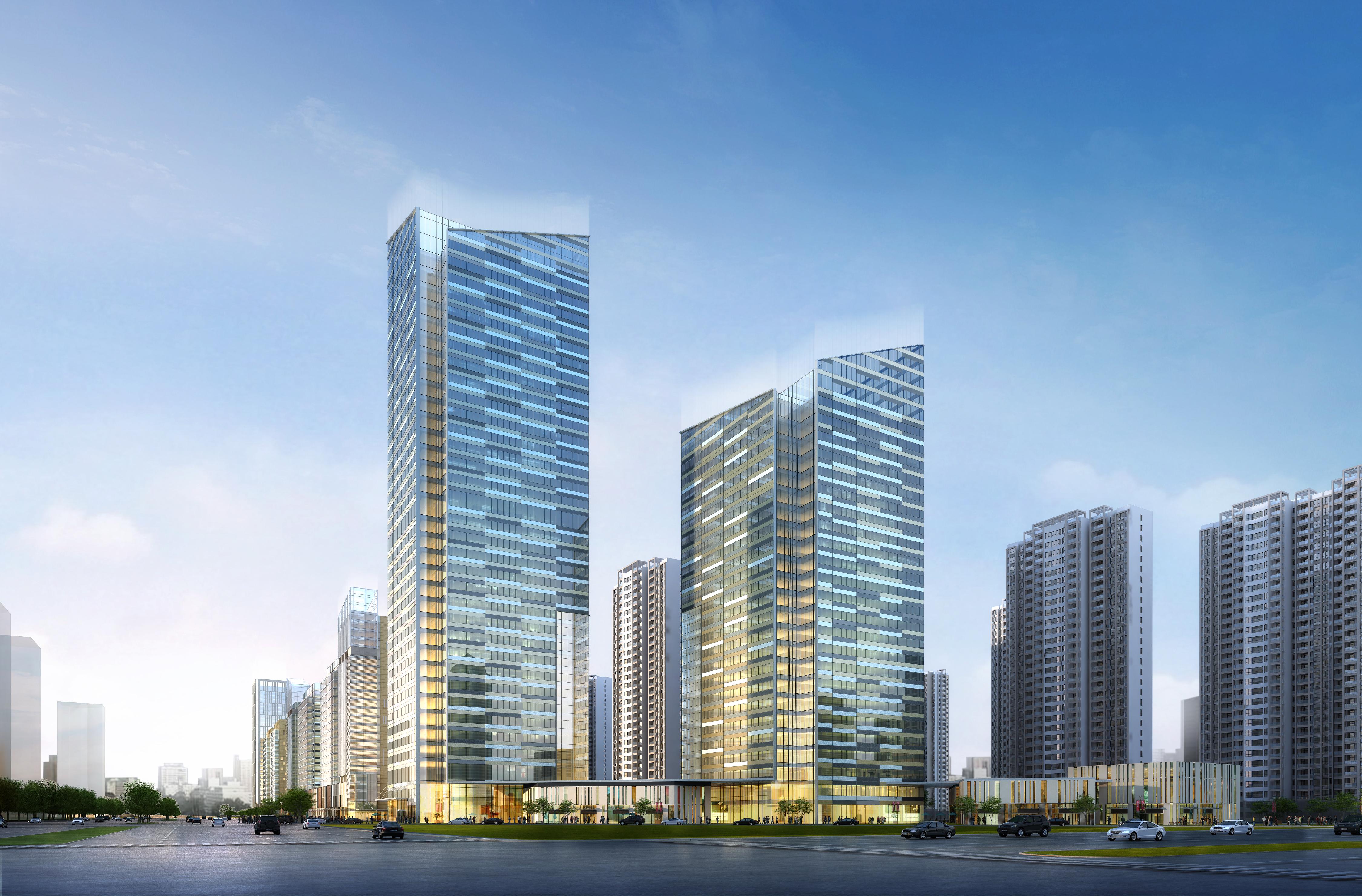 skyscraper office building 010 3d model max 206298