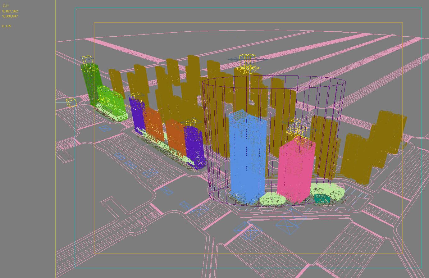 skyscraper office building 010 3d model max 206299