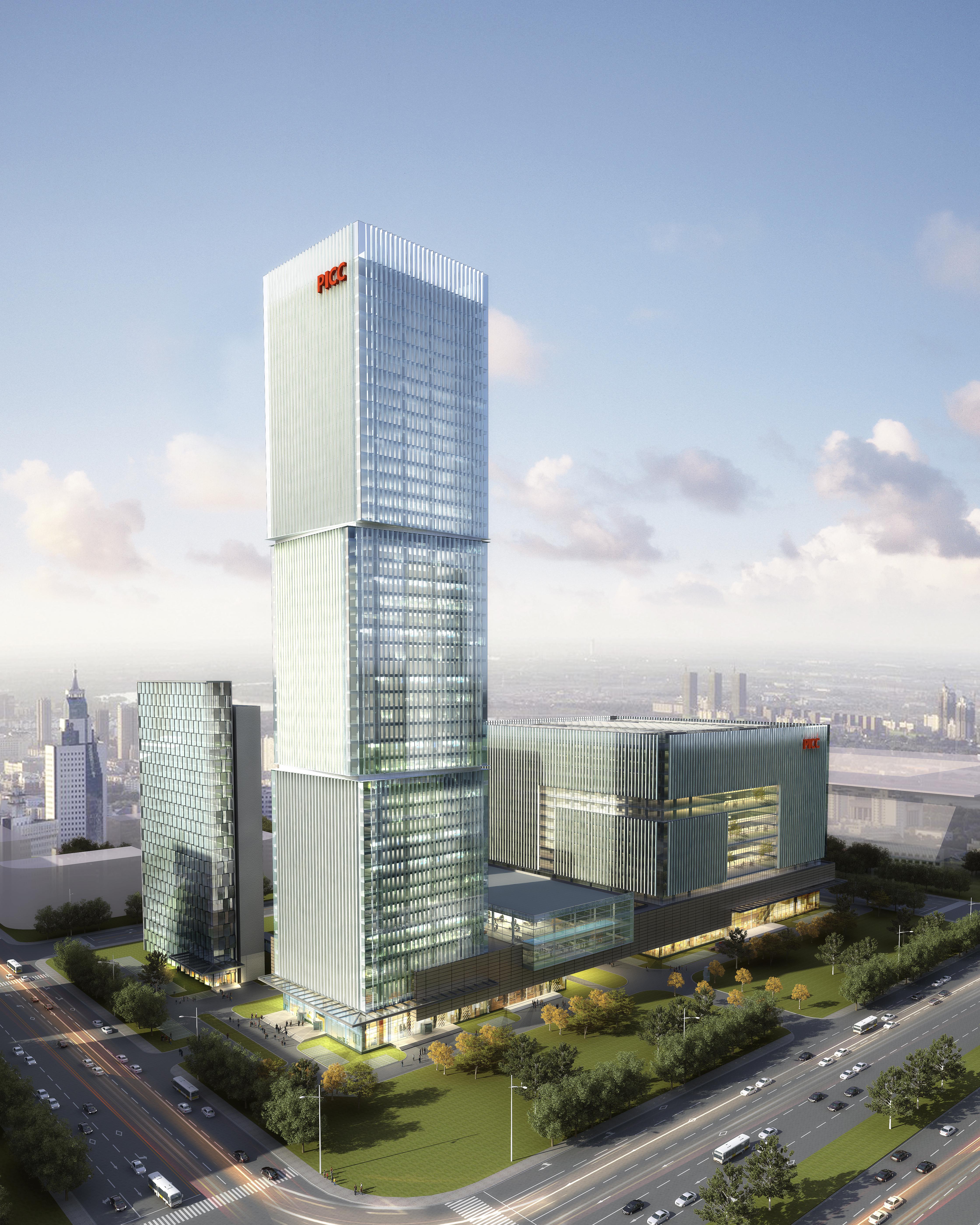 skyscraper office building 011 3d model max psd 206309