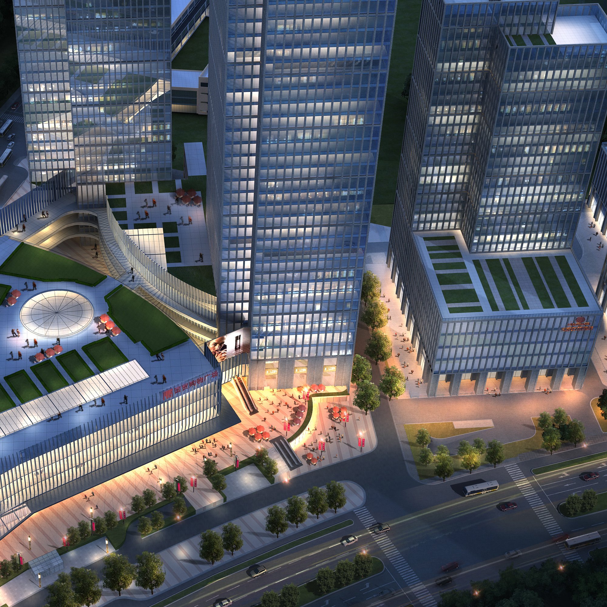 skyscraper office building 012 3d model max 206320
