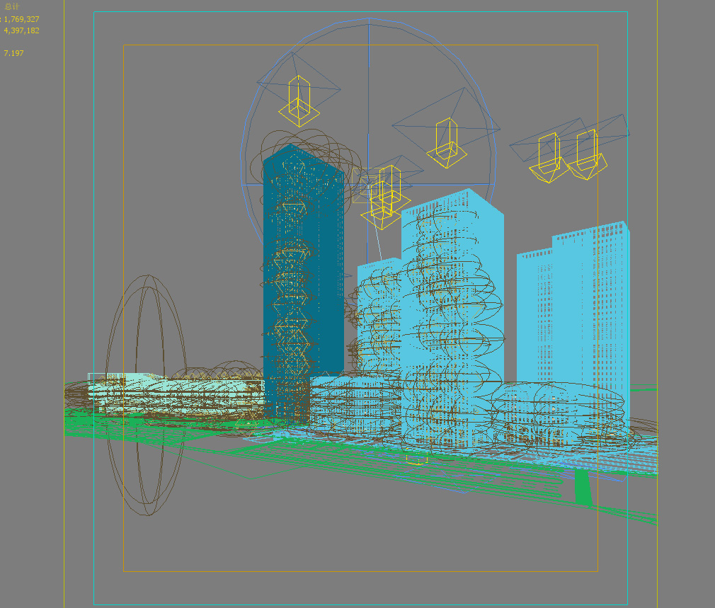 skyscraper office building 012 3d model max 206322