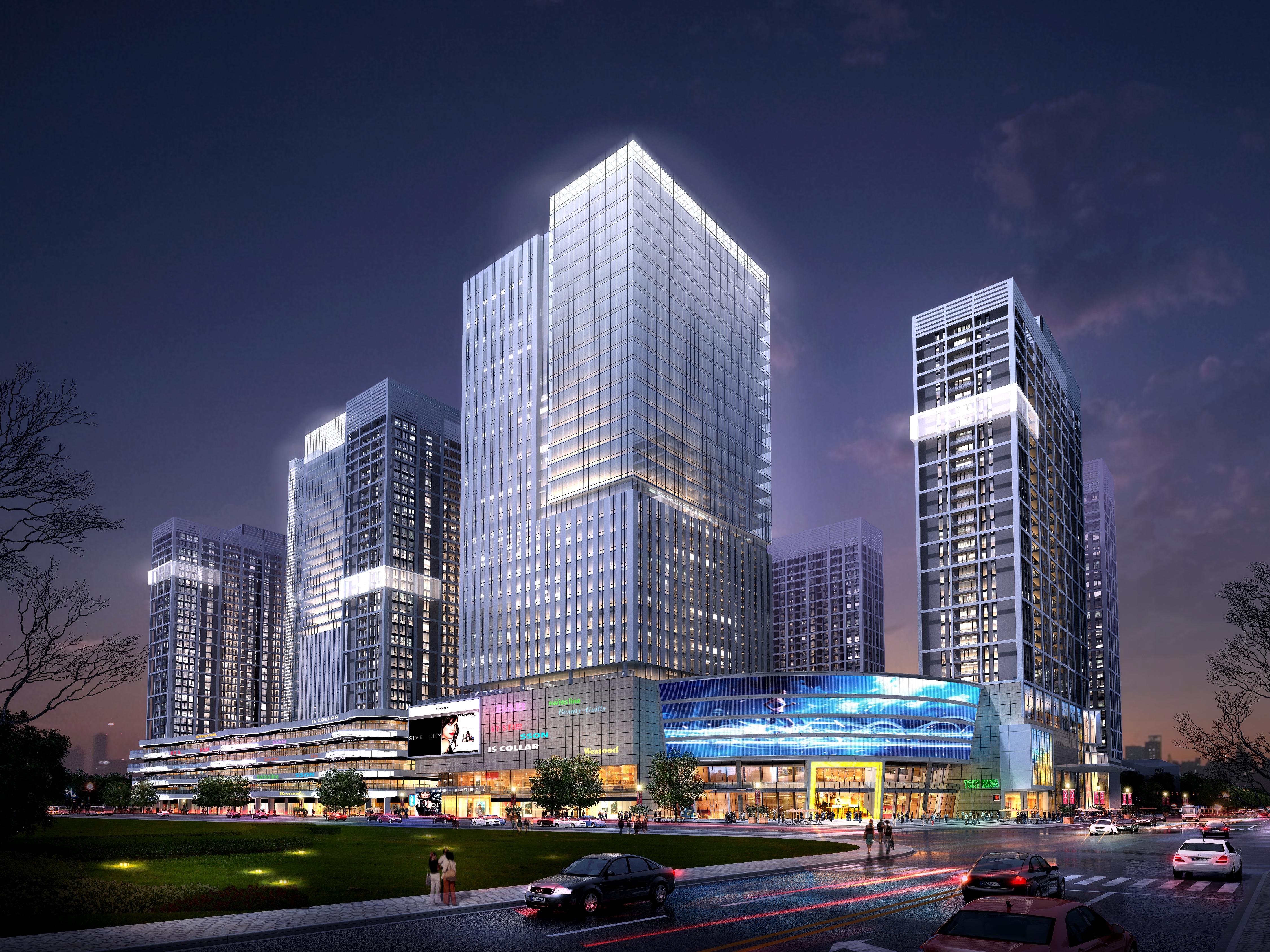 skyscraper office building 013 3d model max 206324