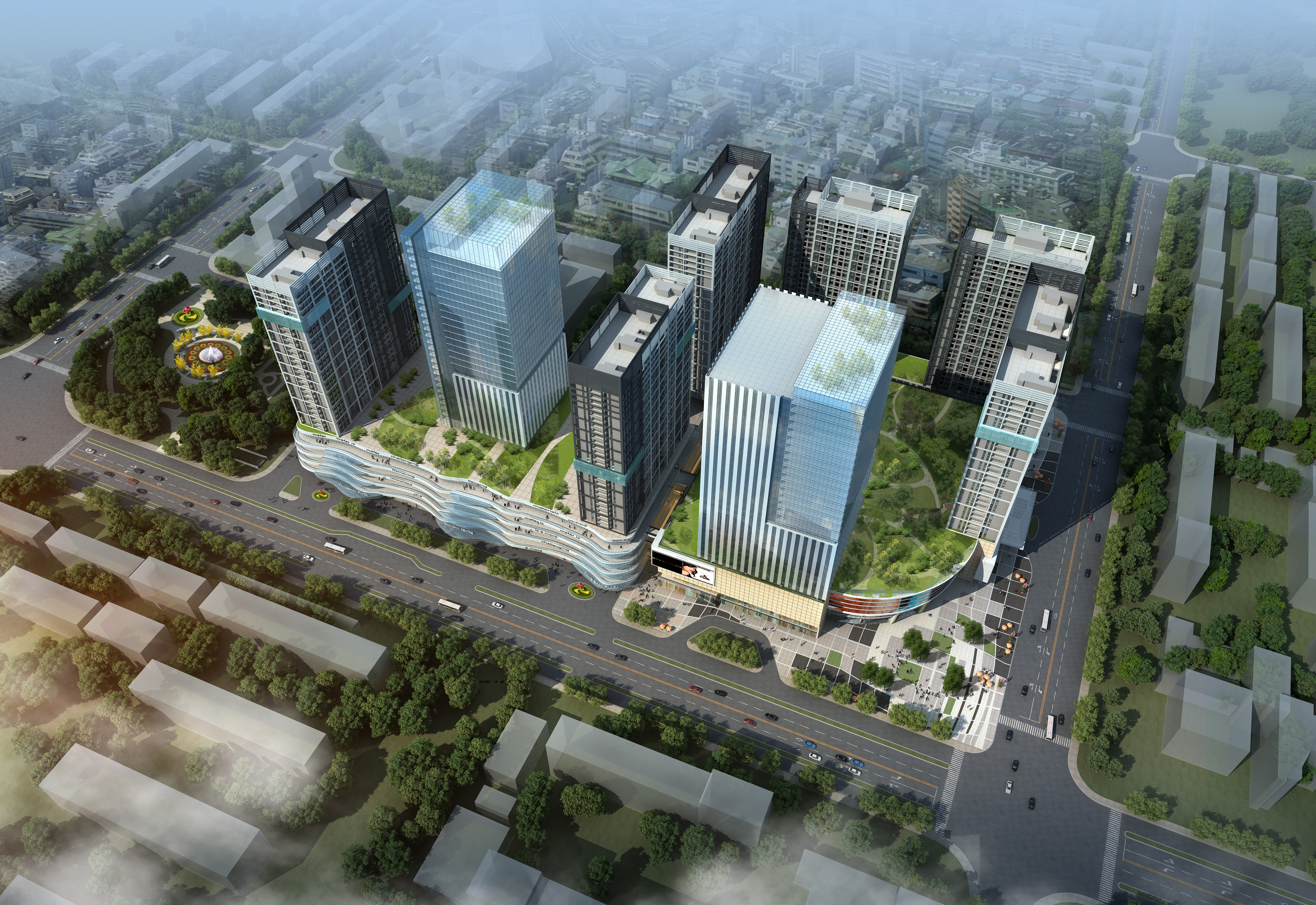 skyscraper office building 013 3d model max 206326