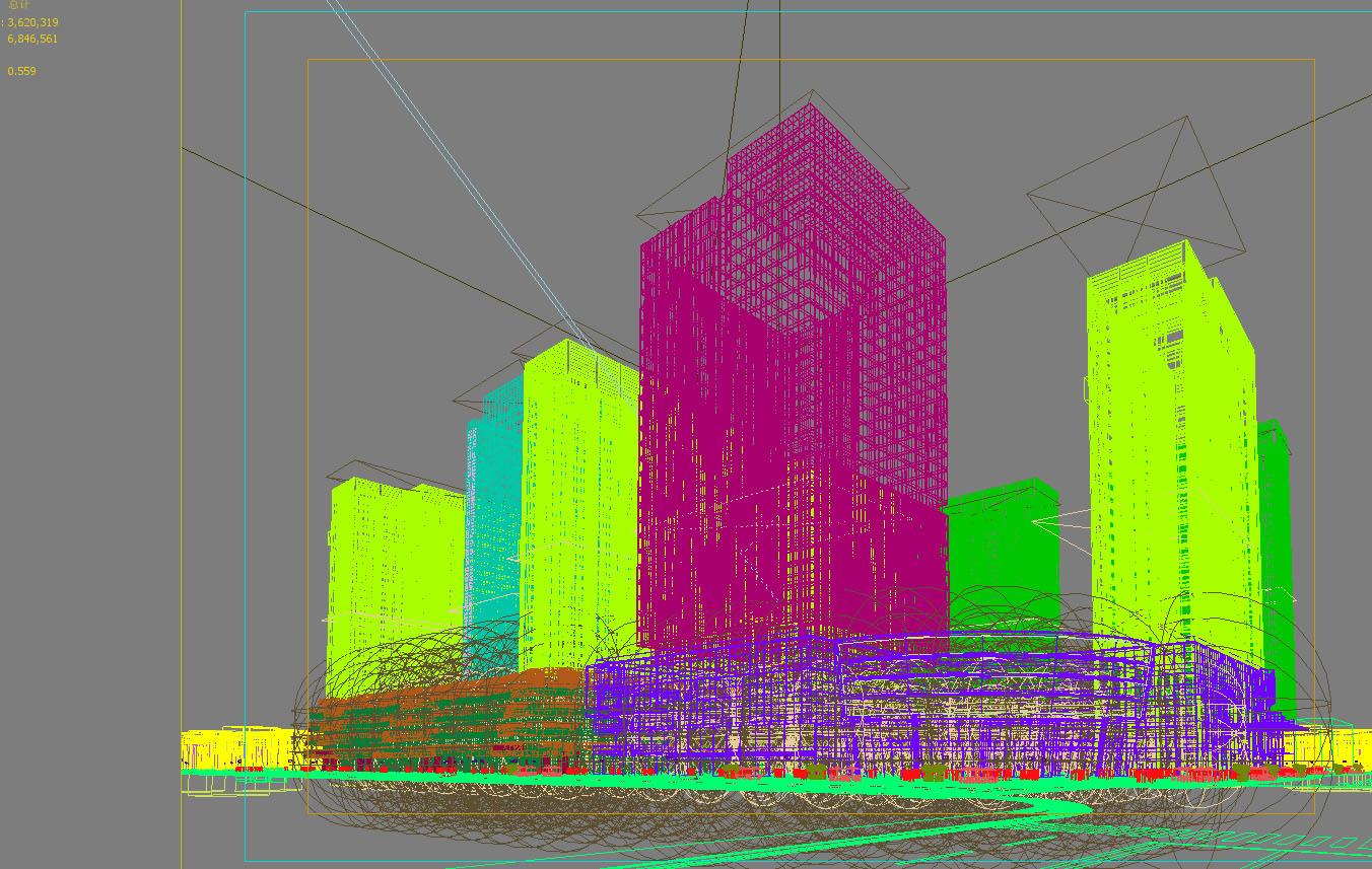 skyscraper office building 013 3d model max 206328