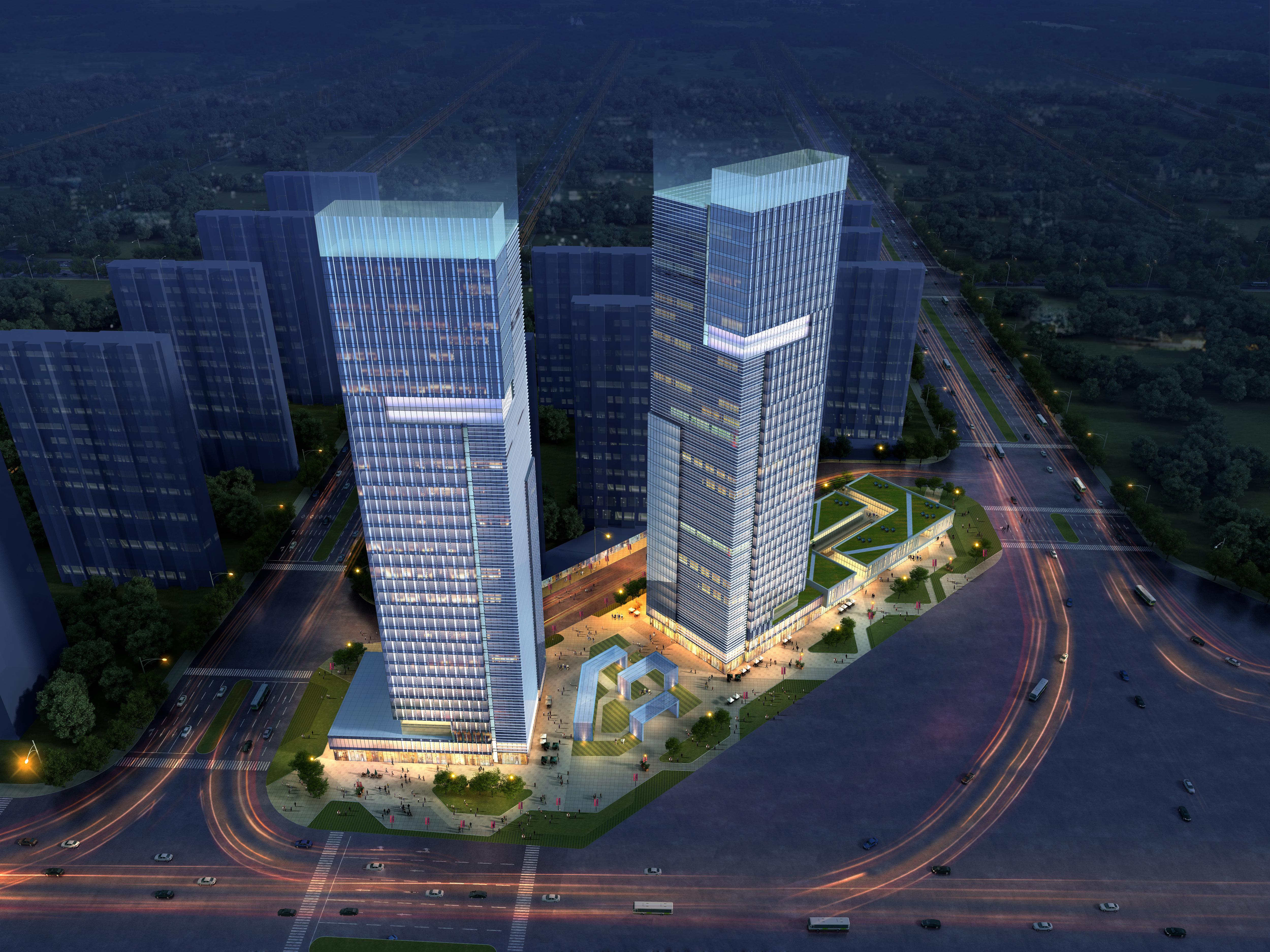 skyscraper office building 015 3d model max 206350