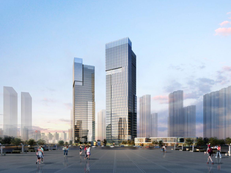 skyscraper office building 015 3d model max 206351