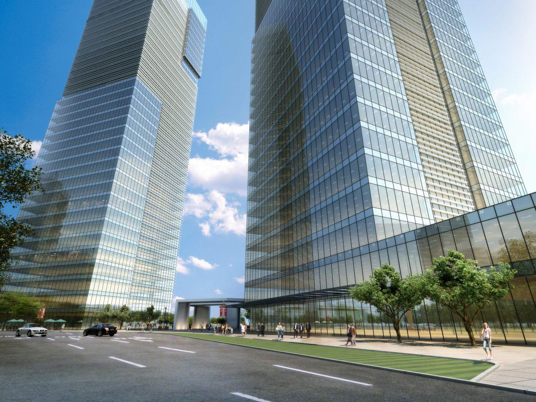 skyscraper office building 015 3d model max 206352