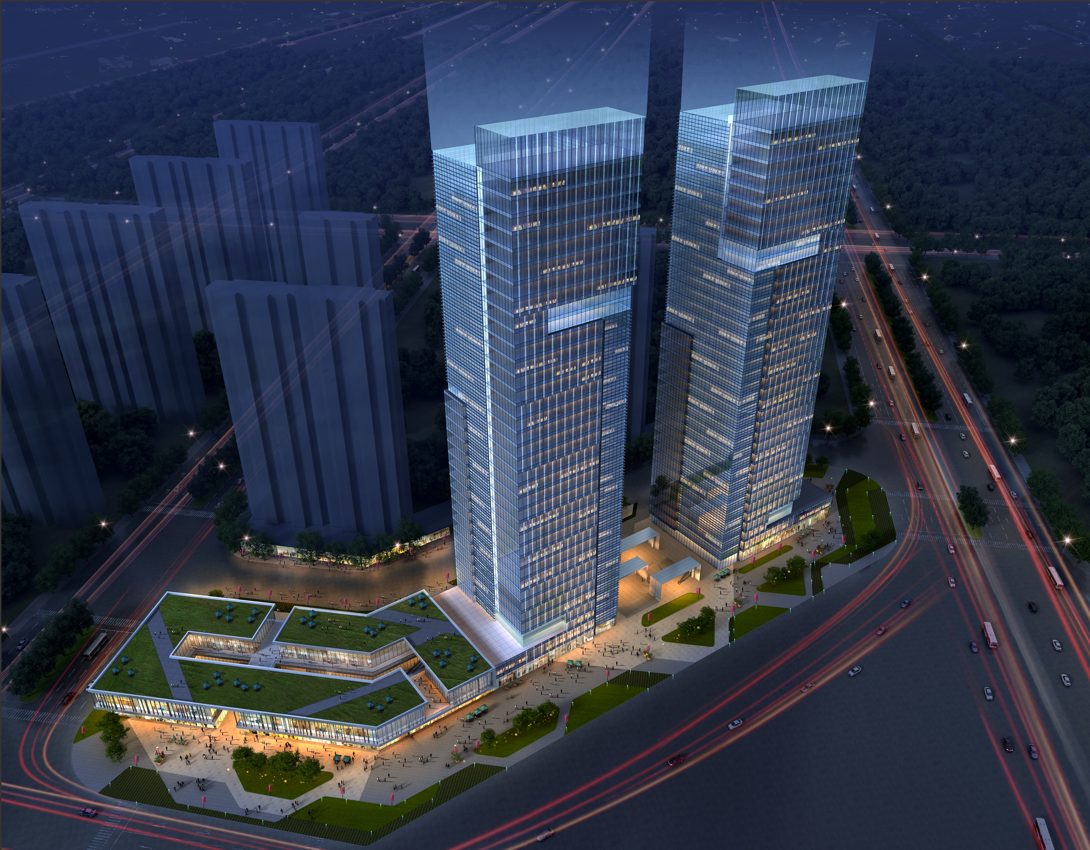 skyscraper office building 016 3d model max 206356