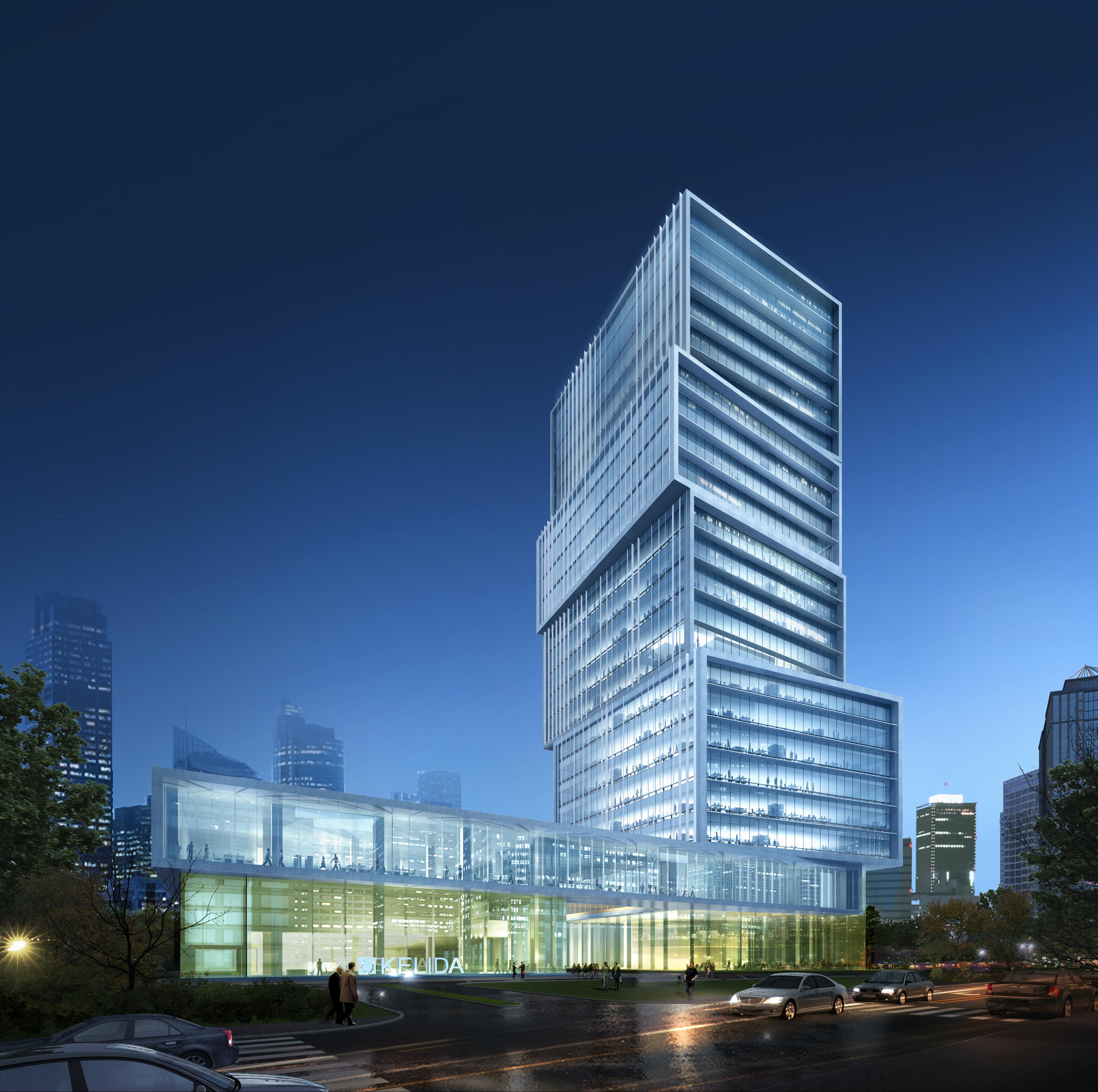skyscraper office building 017 3d model max 206364