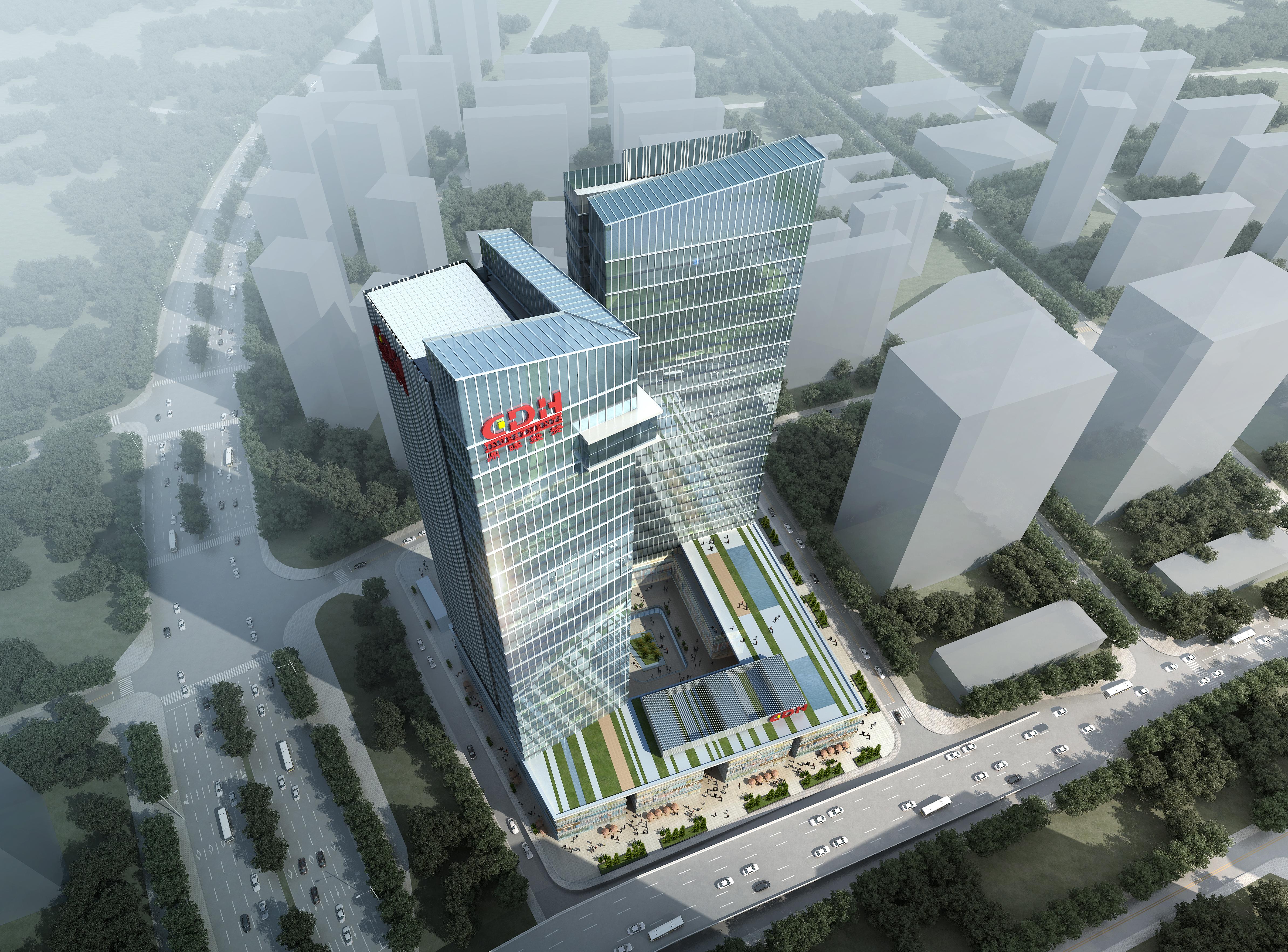 office building skyscraper 021 3d model max psd 206376