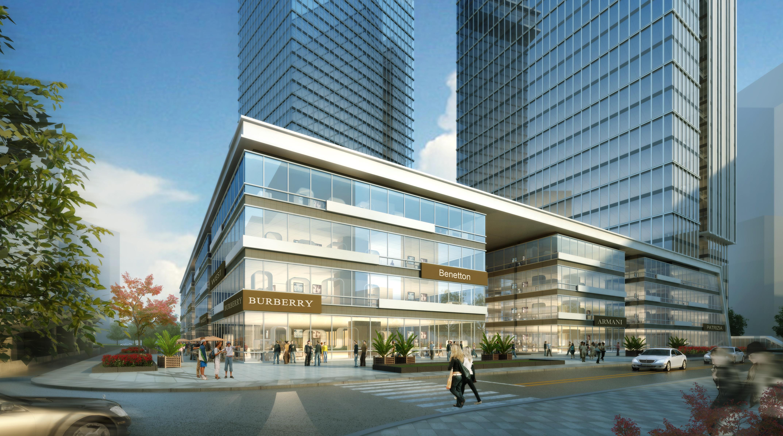 office building skyscraper 021 3d model max psd 206378