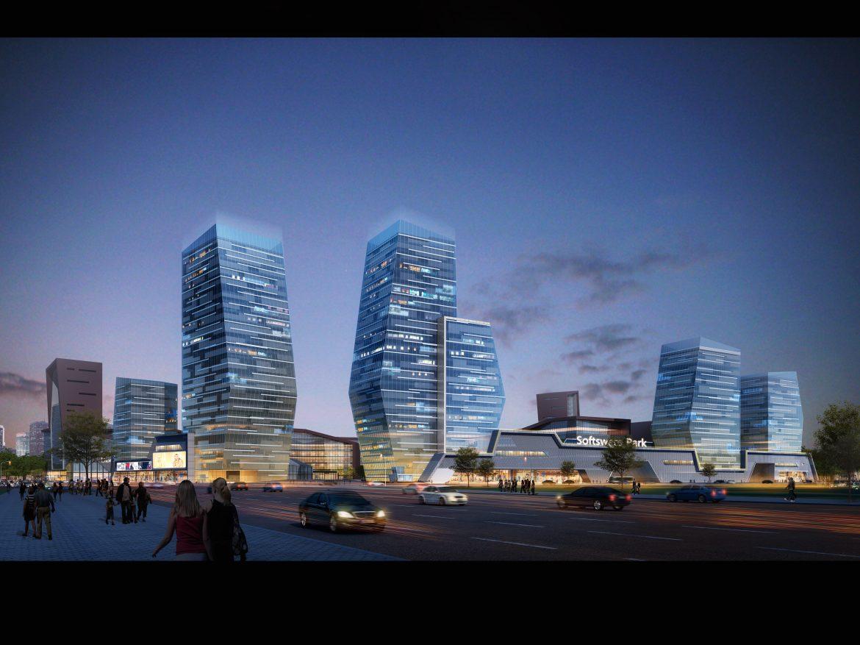 skyscraper office building 025 3d model max 206401