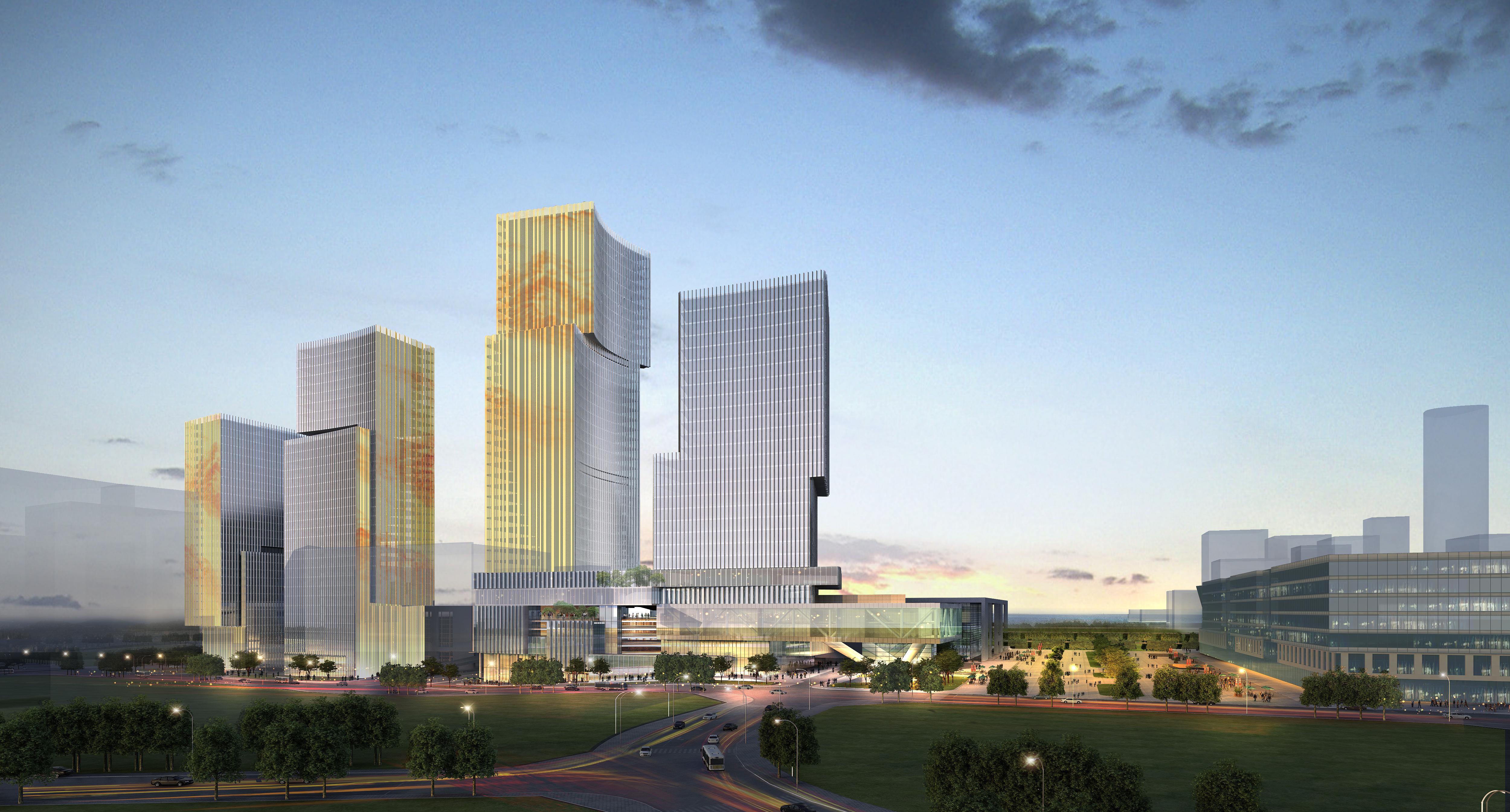 skyscraper office building 026 3d model max 206408