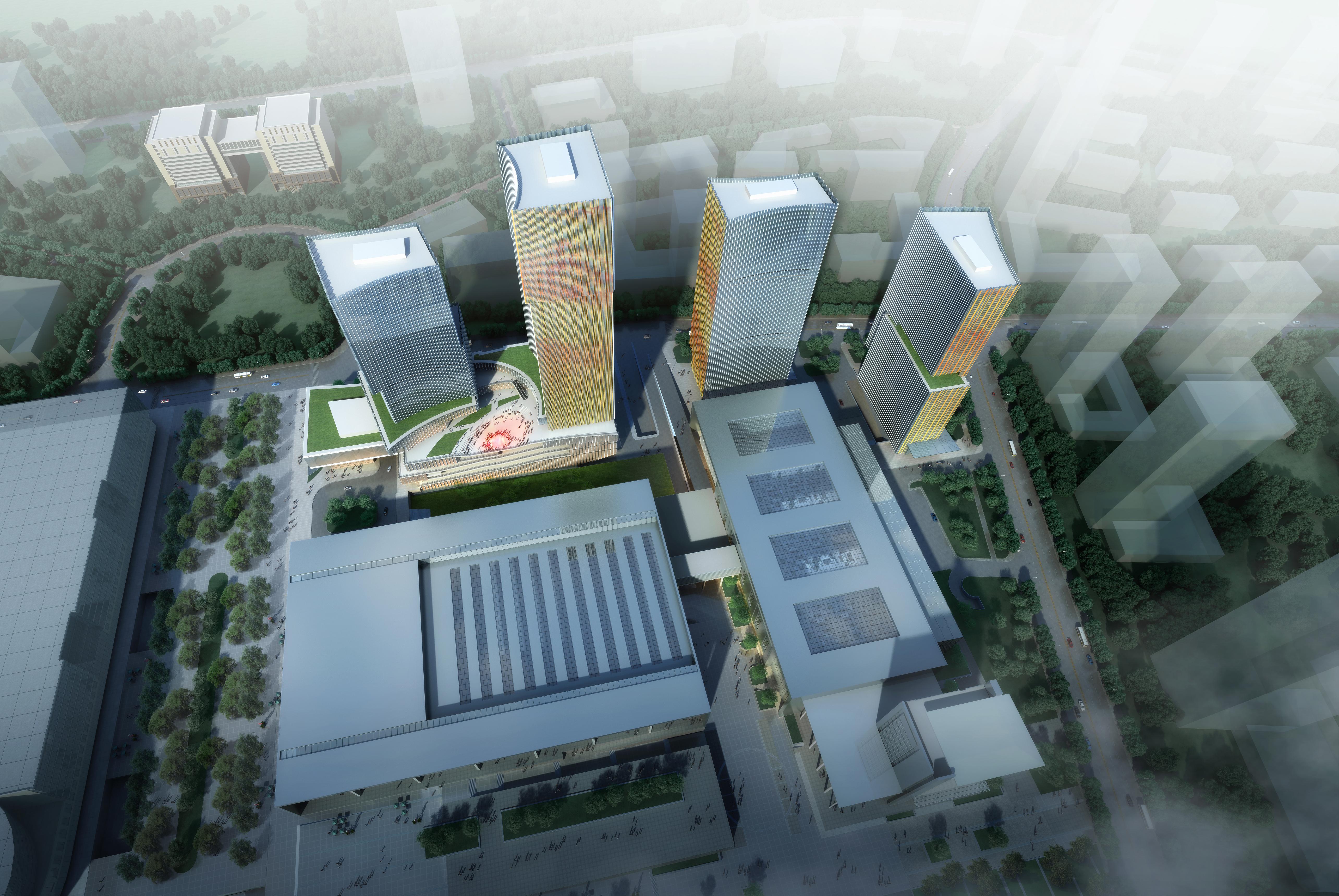 skyscraper office building 026 3d model max 206410