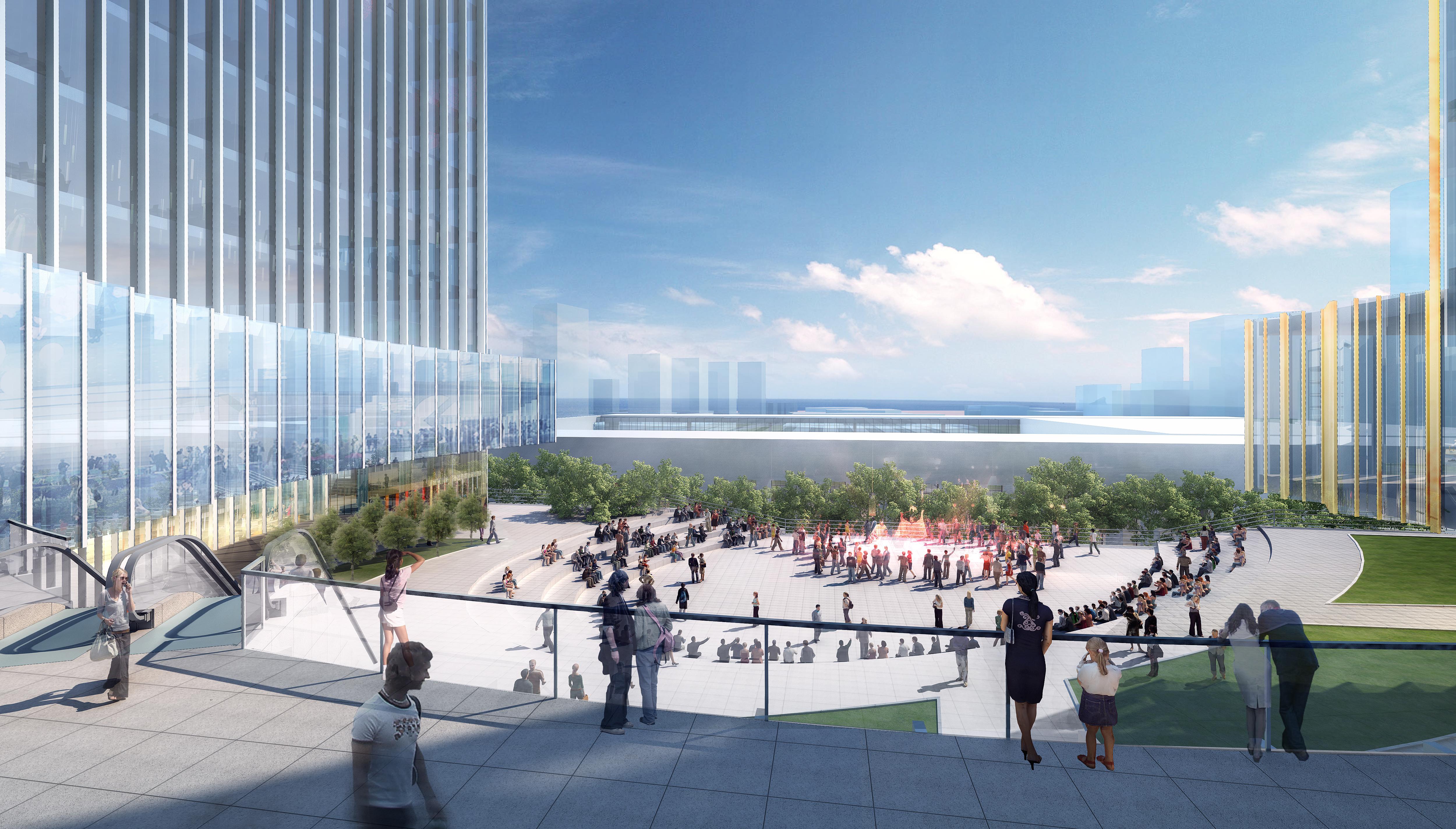 skyscraper office building 026 3d model max 206414