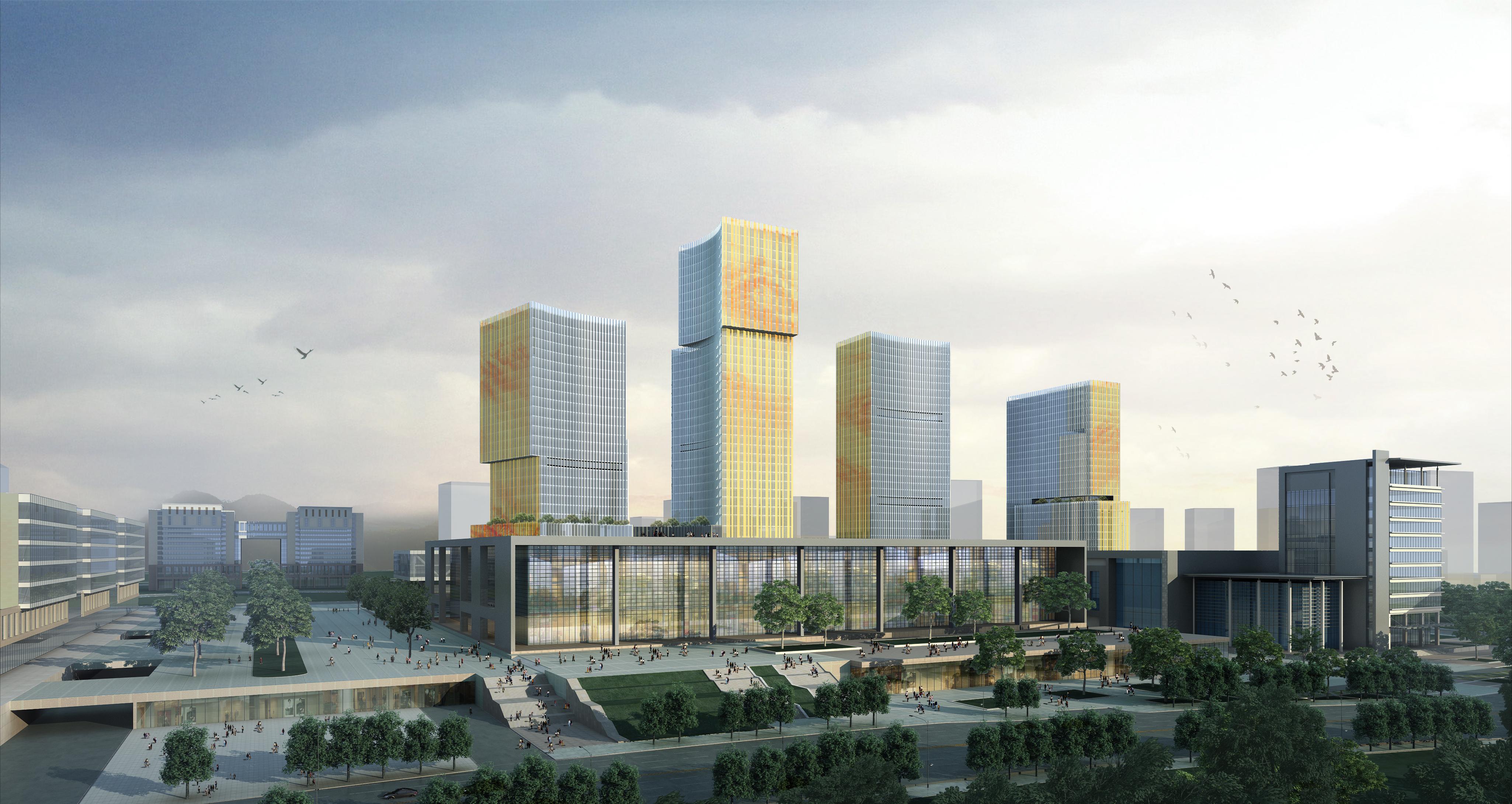 skyscraper office building 026 3d model max 206415