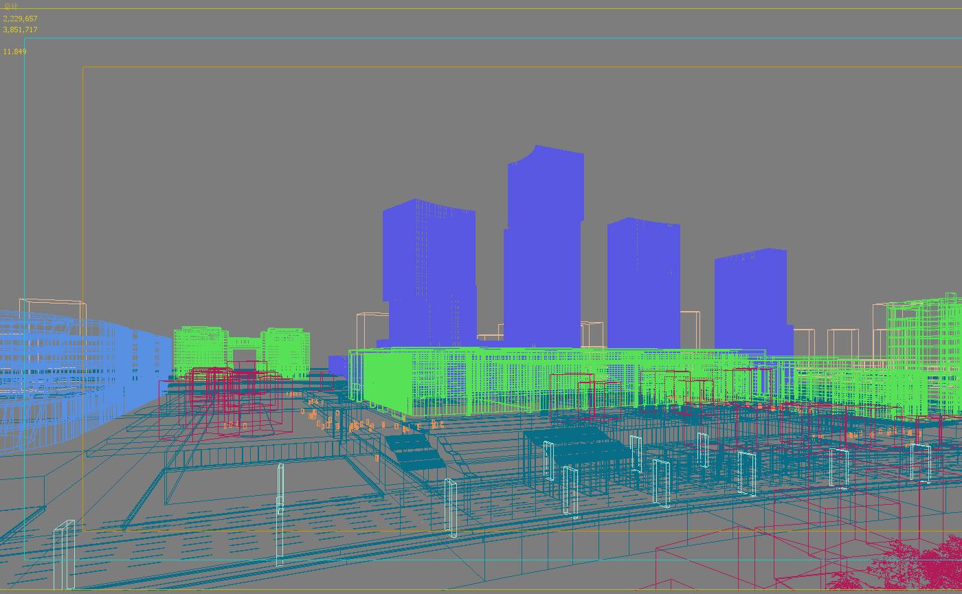 skyscraper office building 026 3d model max 206416