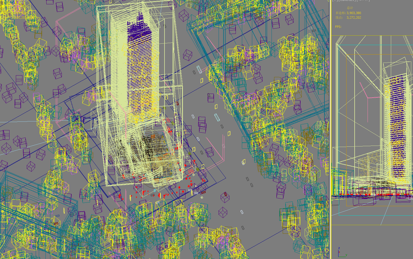 skyscraper office building 028 3d model max 206430