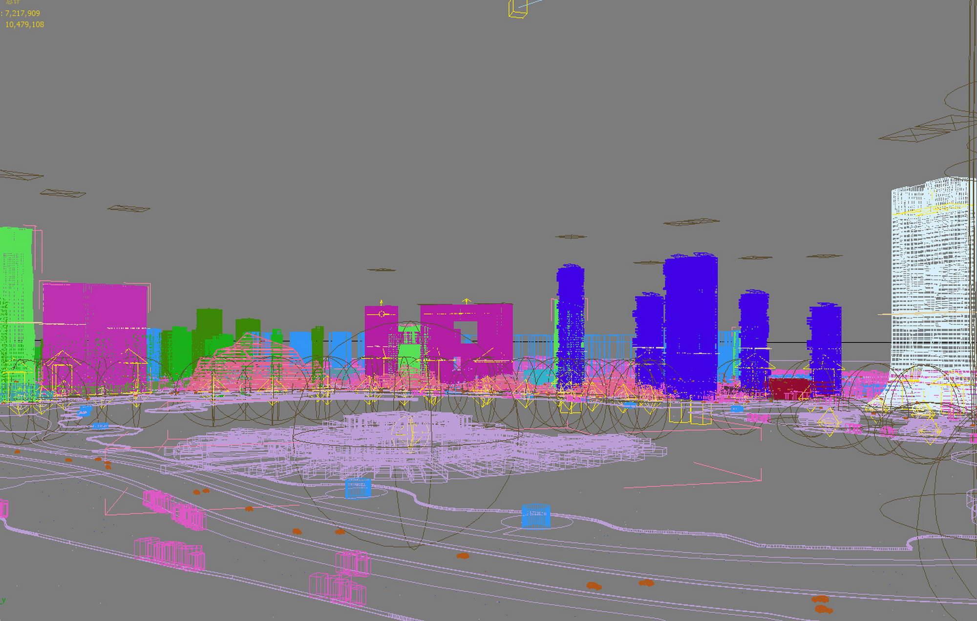 city planning 024 v2 3d model max 206471