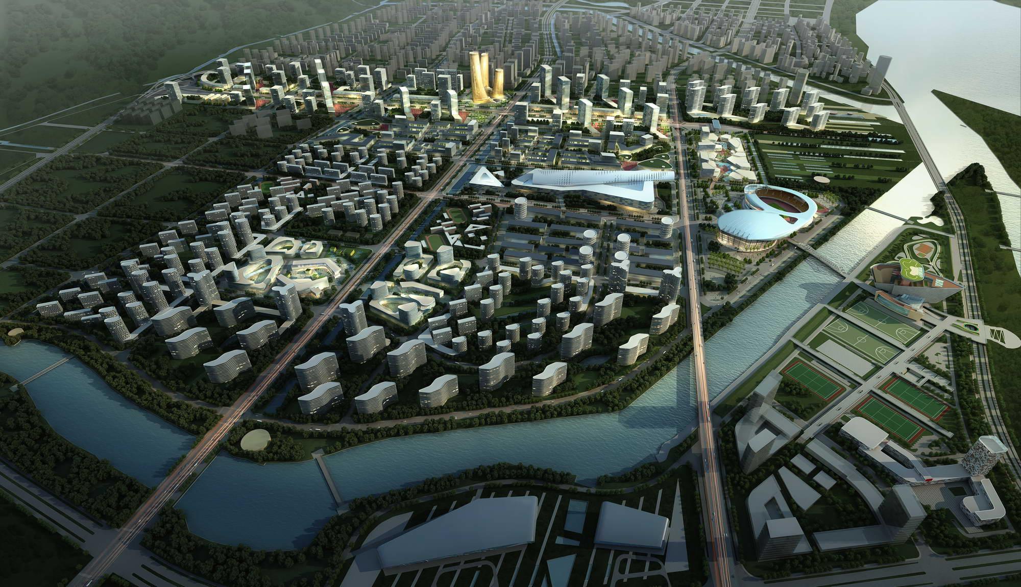 city planning 025 3d model max 206473