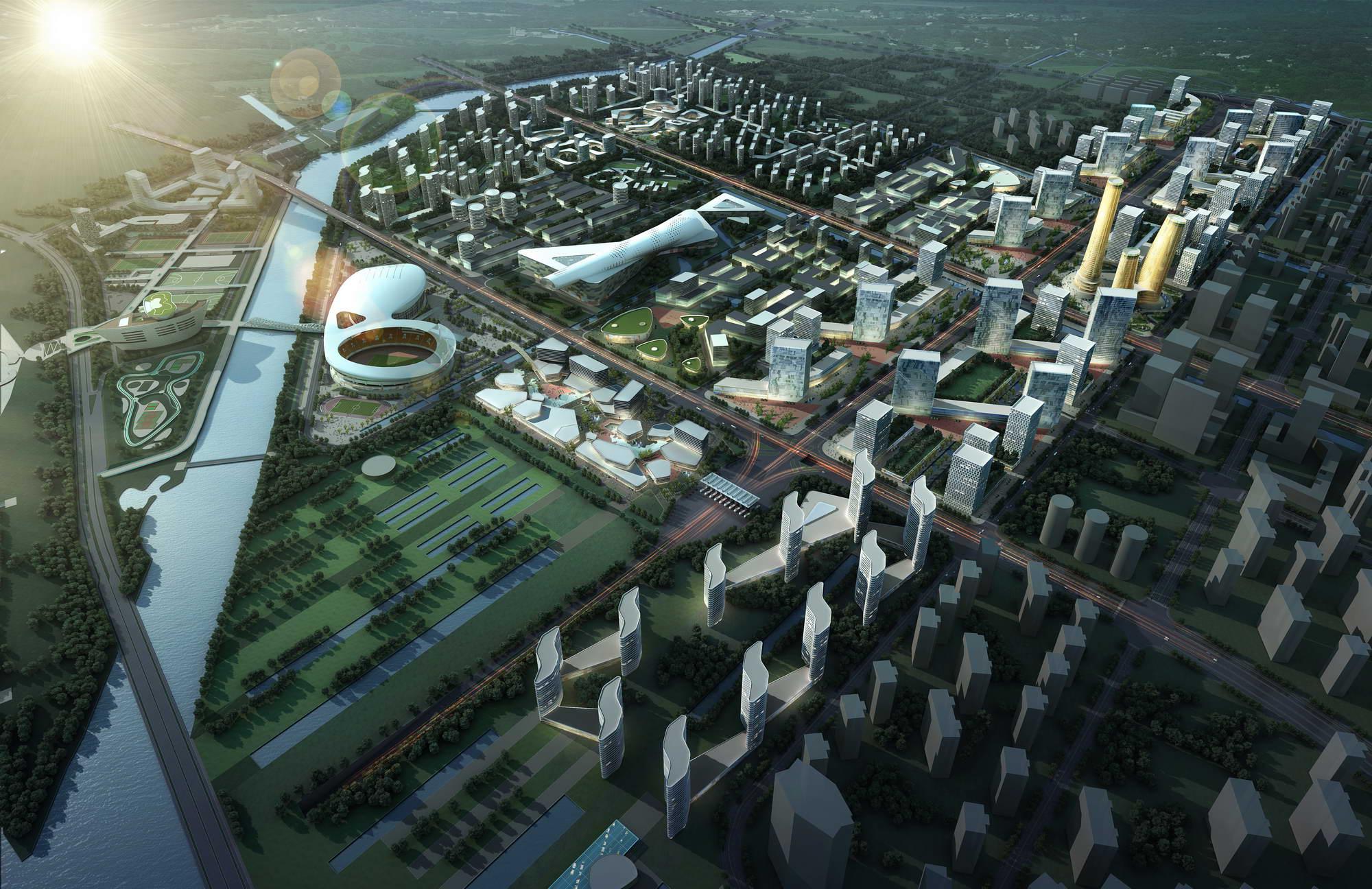 city planning 025 3d model max 206474