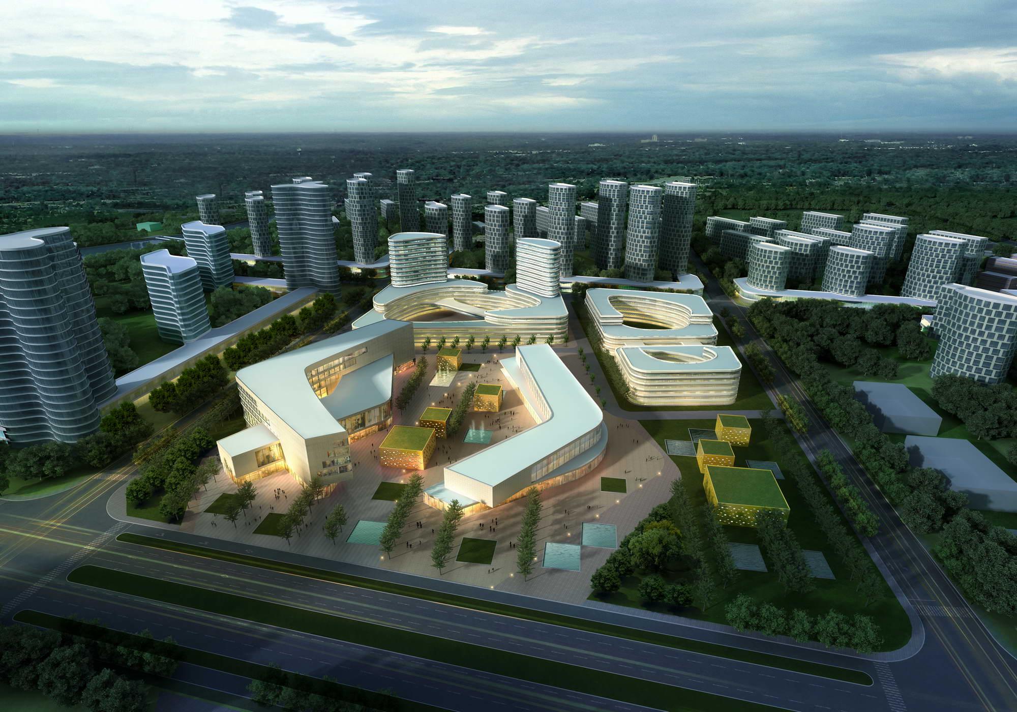 city planning 025 3d model max 206476
