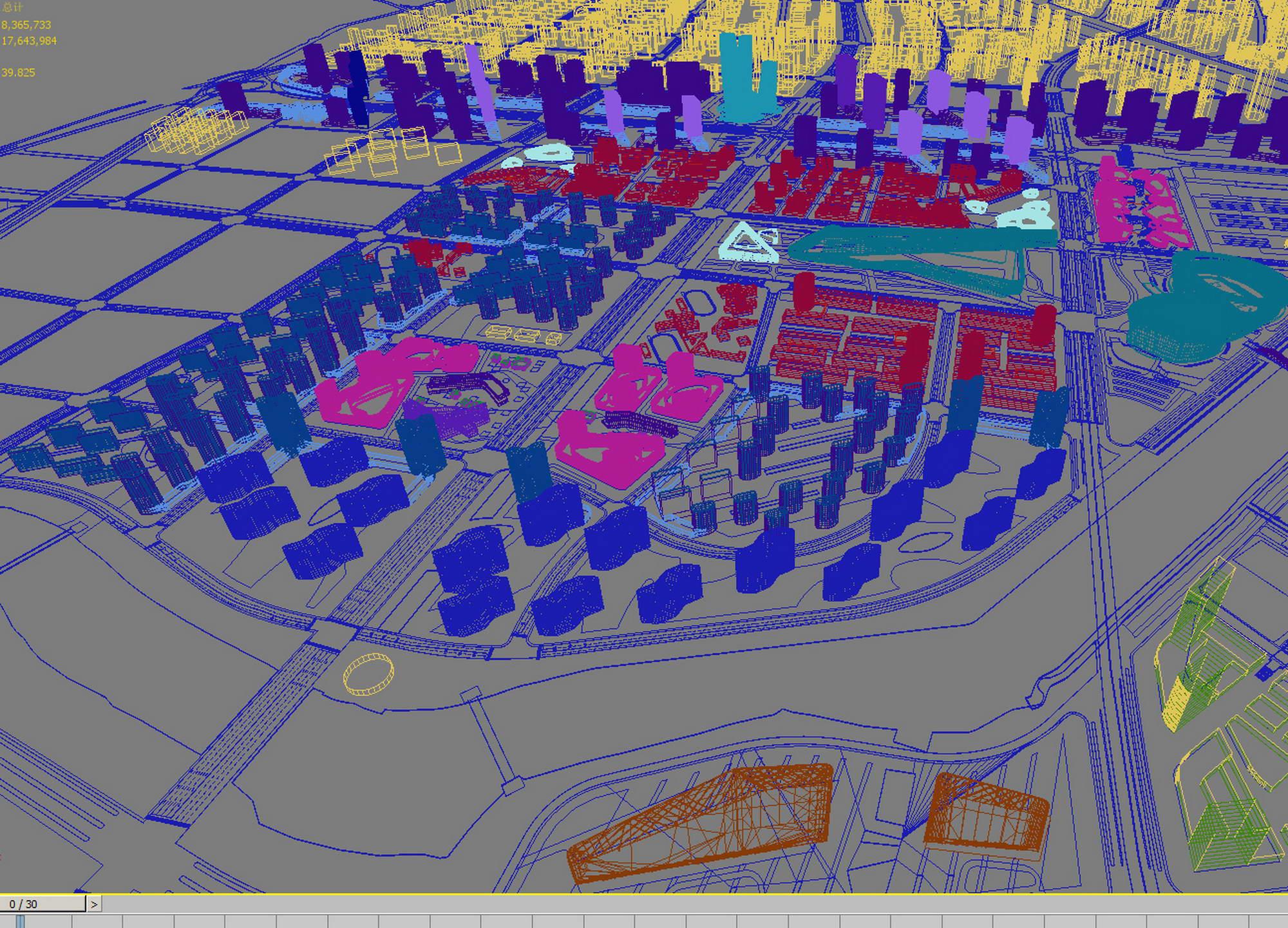 city planning 025 3d model max 206478