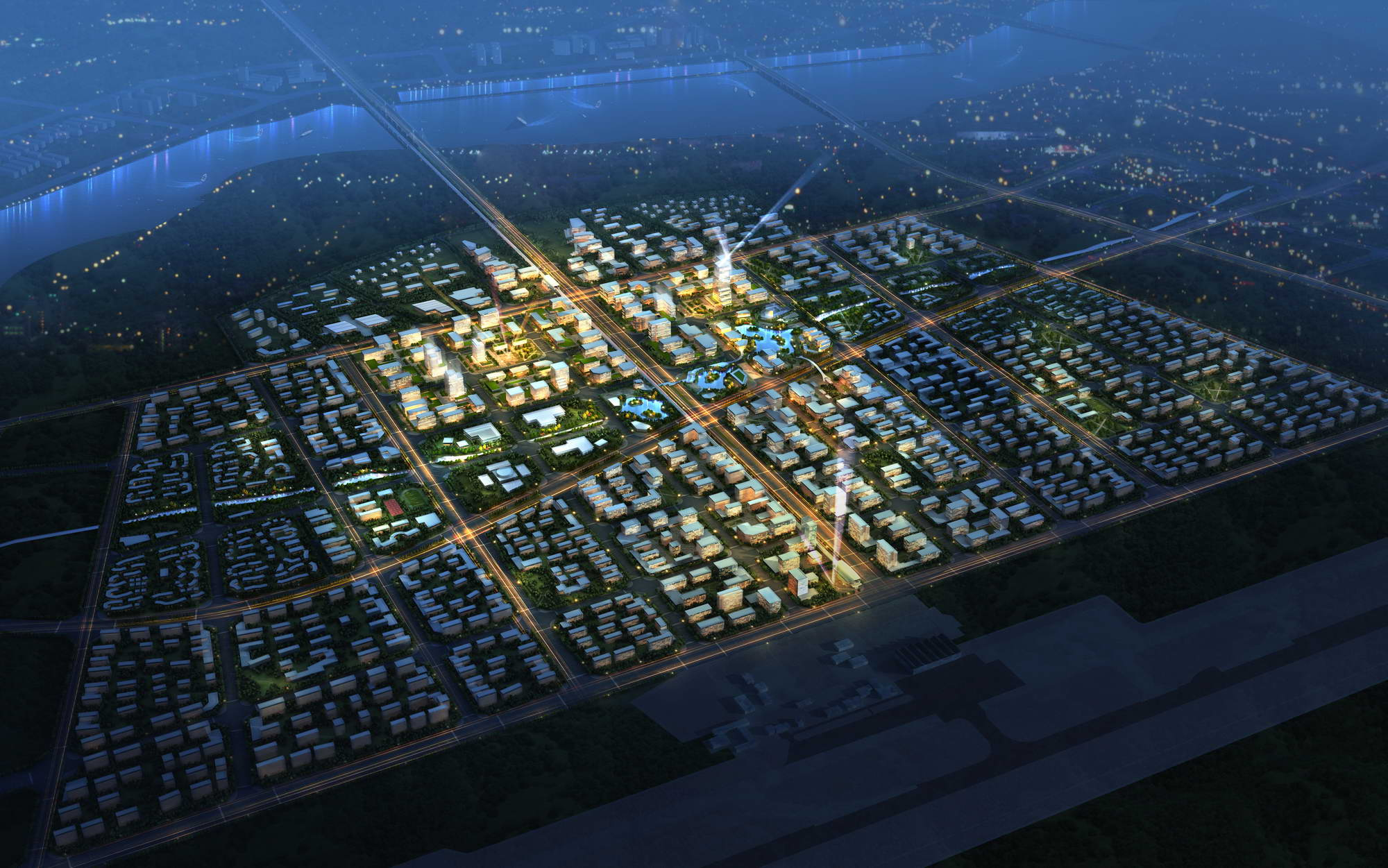 city planning 026 3d model max 206480