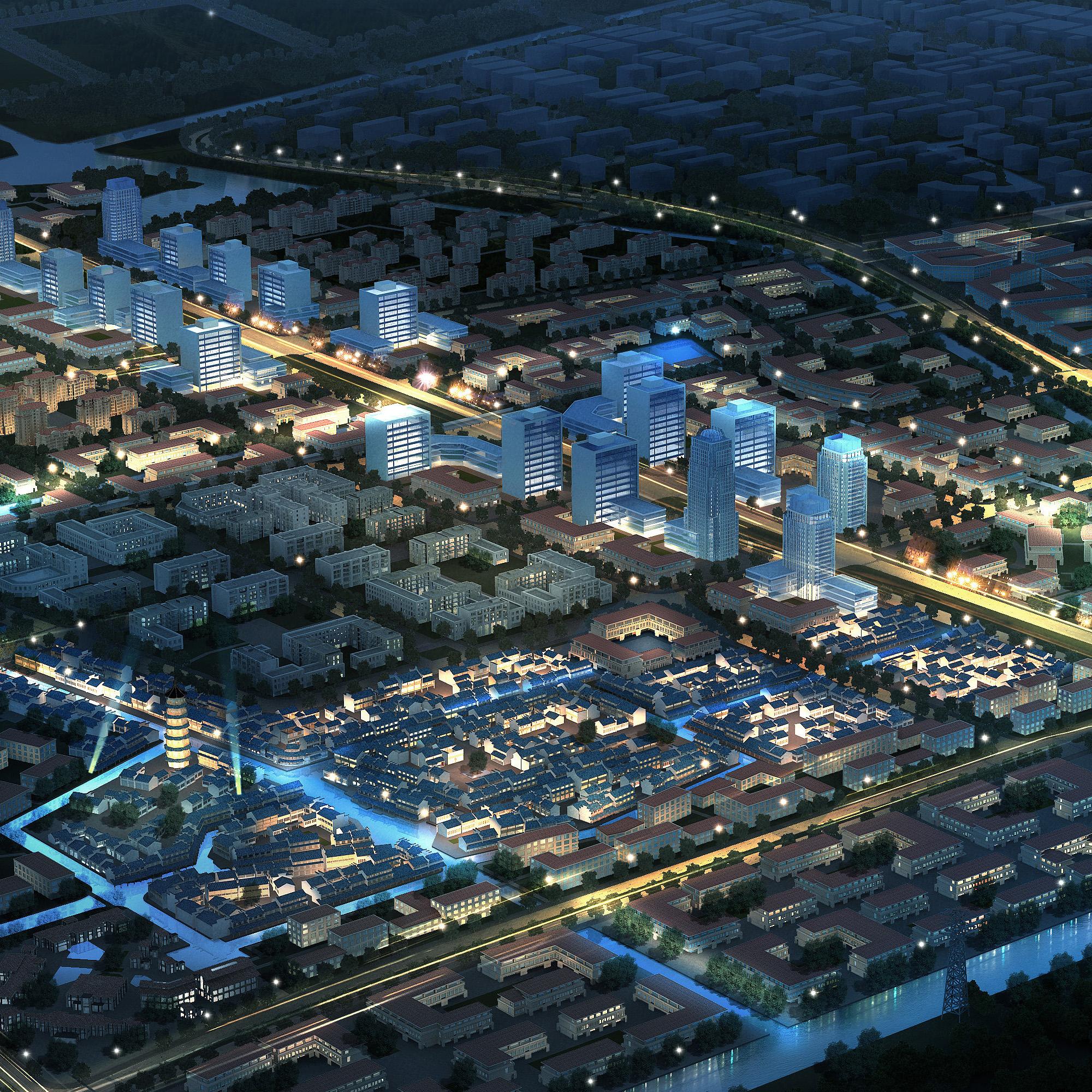 city planning 027 3d model max 206488