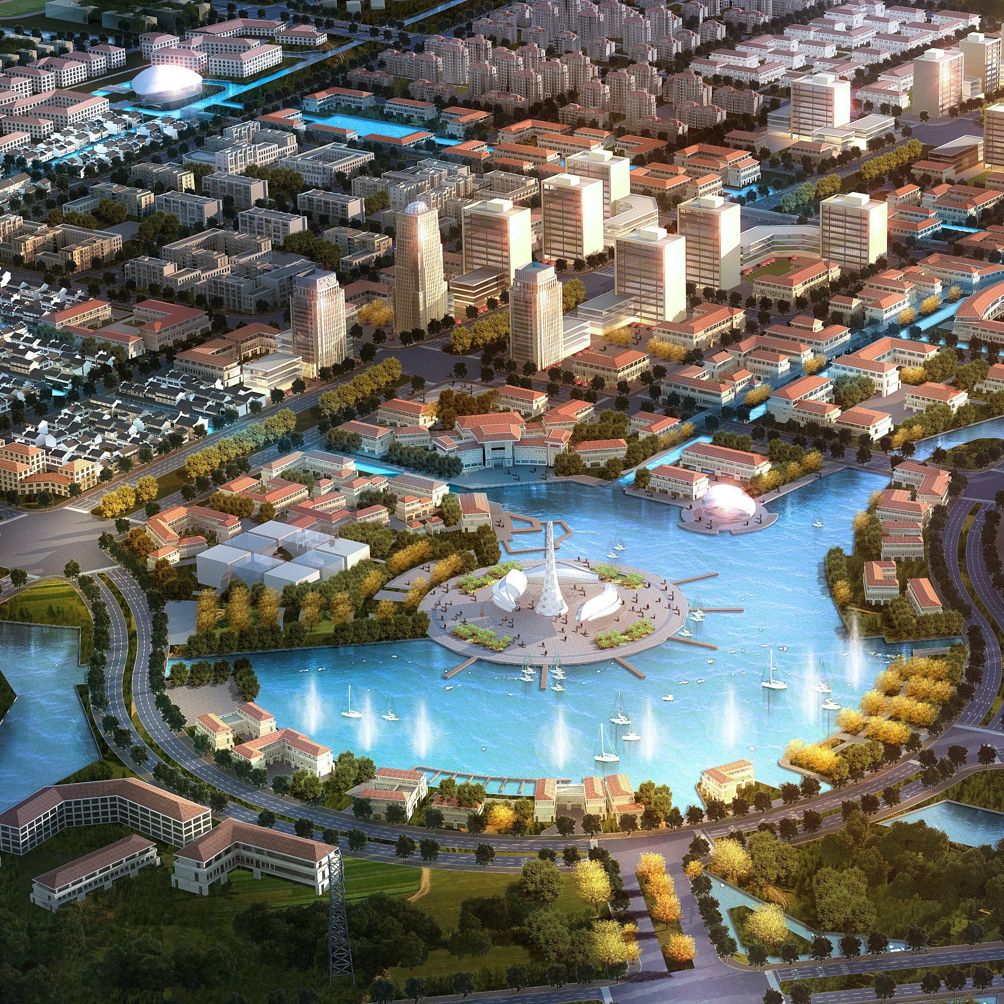 city planning 027 3d model max 206489