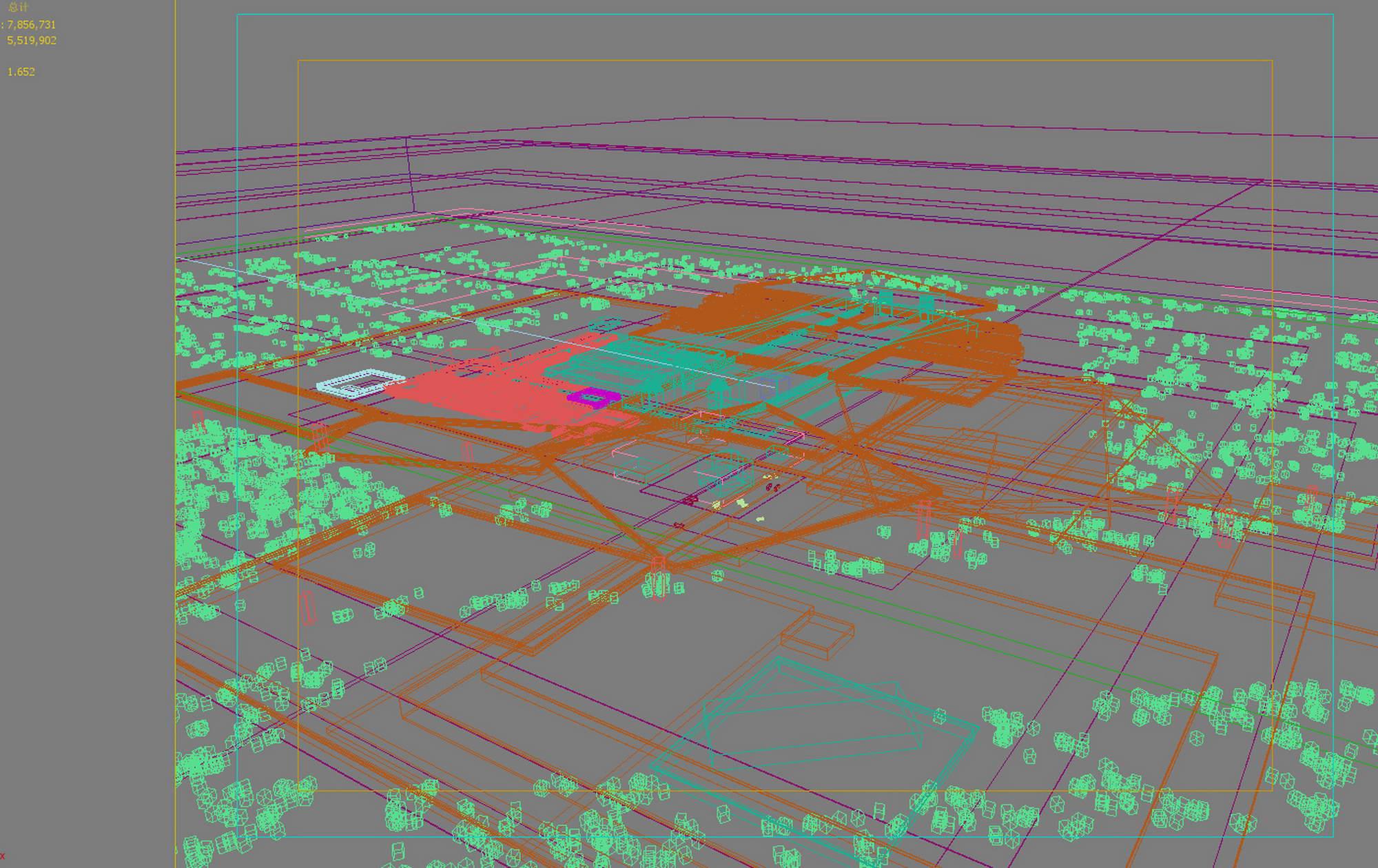 city planning 027 3d model max 206490