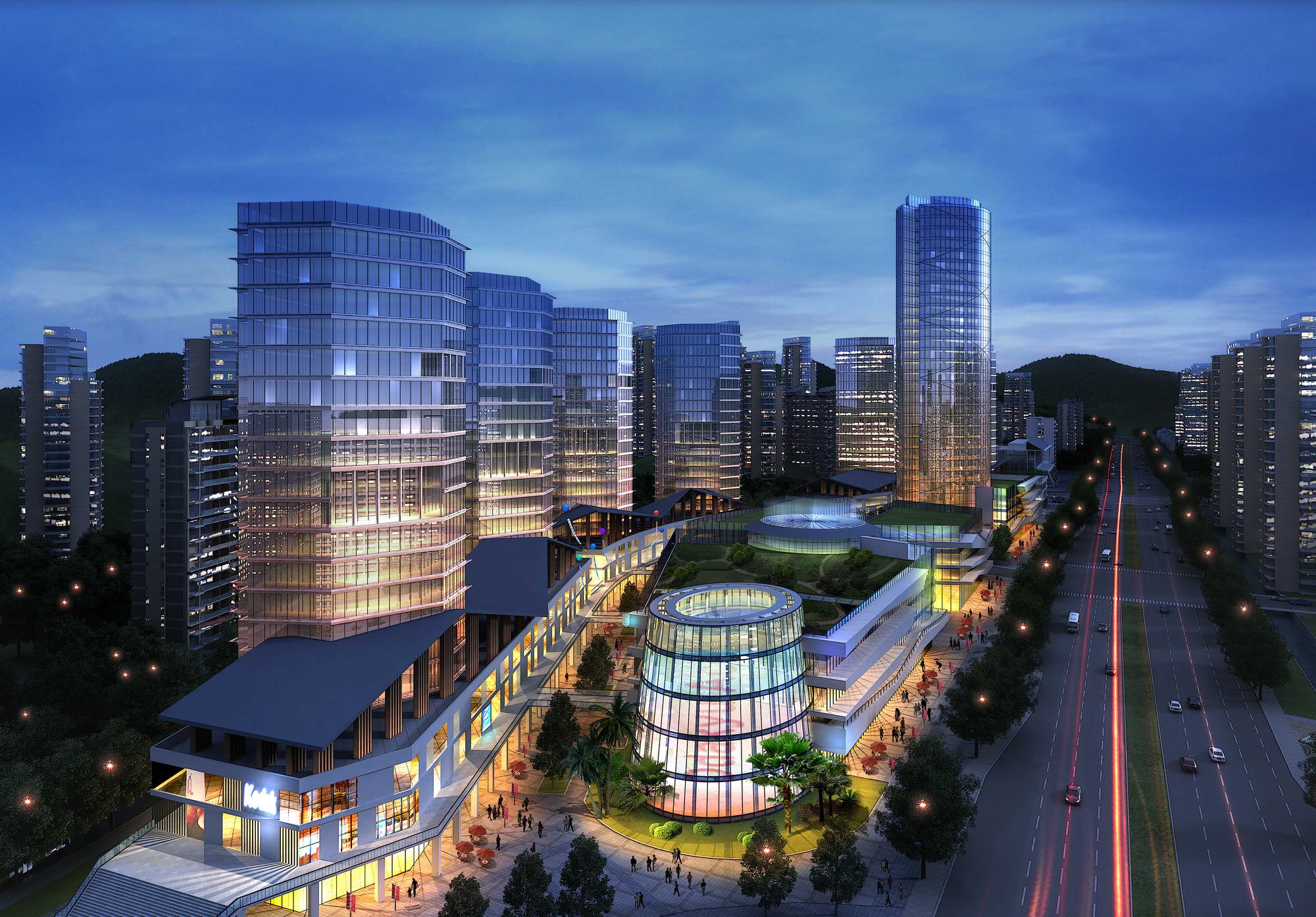 city planning 030 3d model max 206504