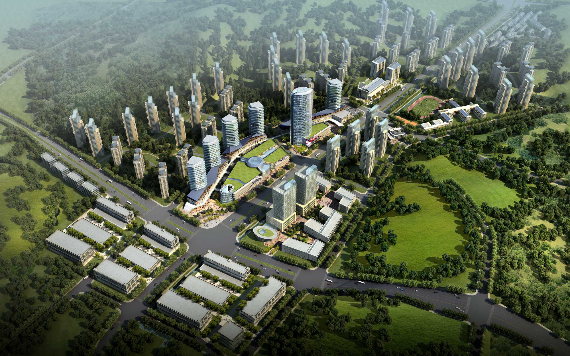 city planning 030 3d model max 206505