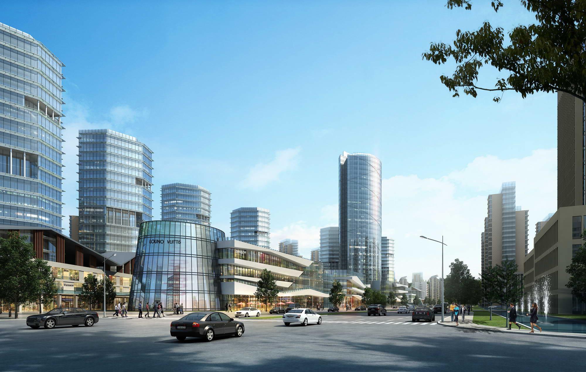city planning 030 3d model max 206506