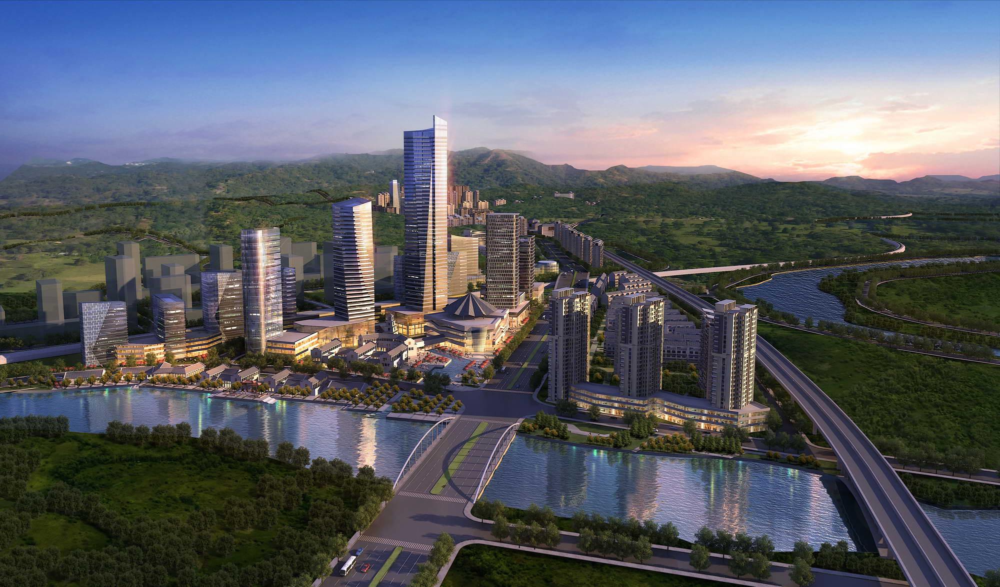 city planning 030 3d model max 206507