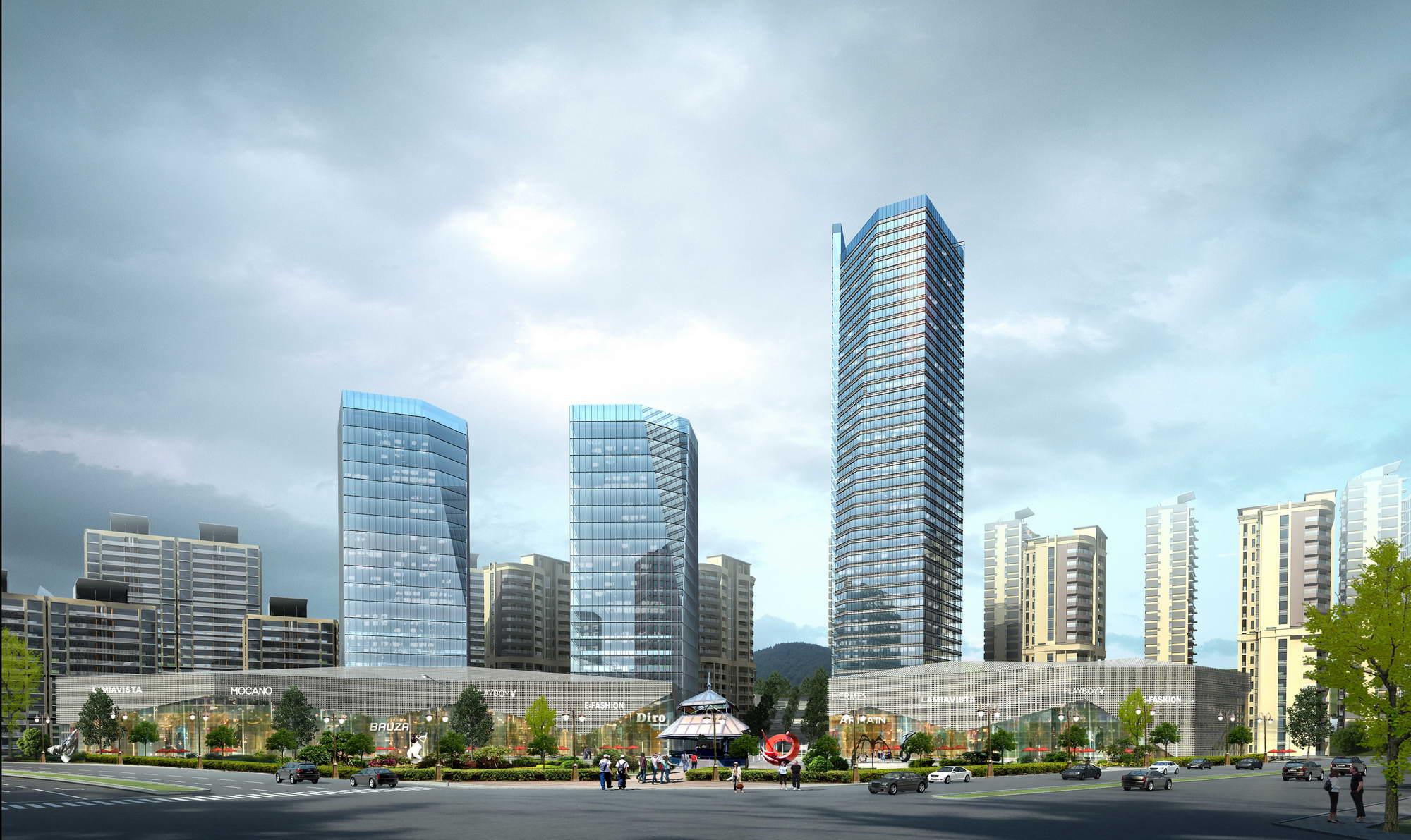 city planning 030 3d model max 206508