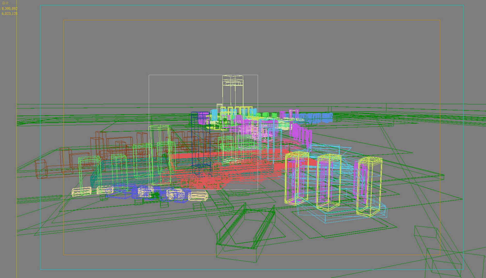 city planning 030 3d model max 206509