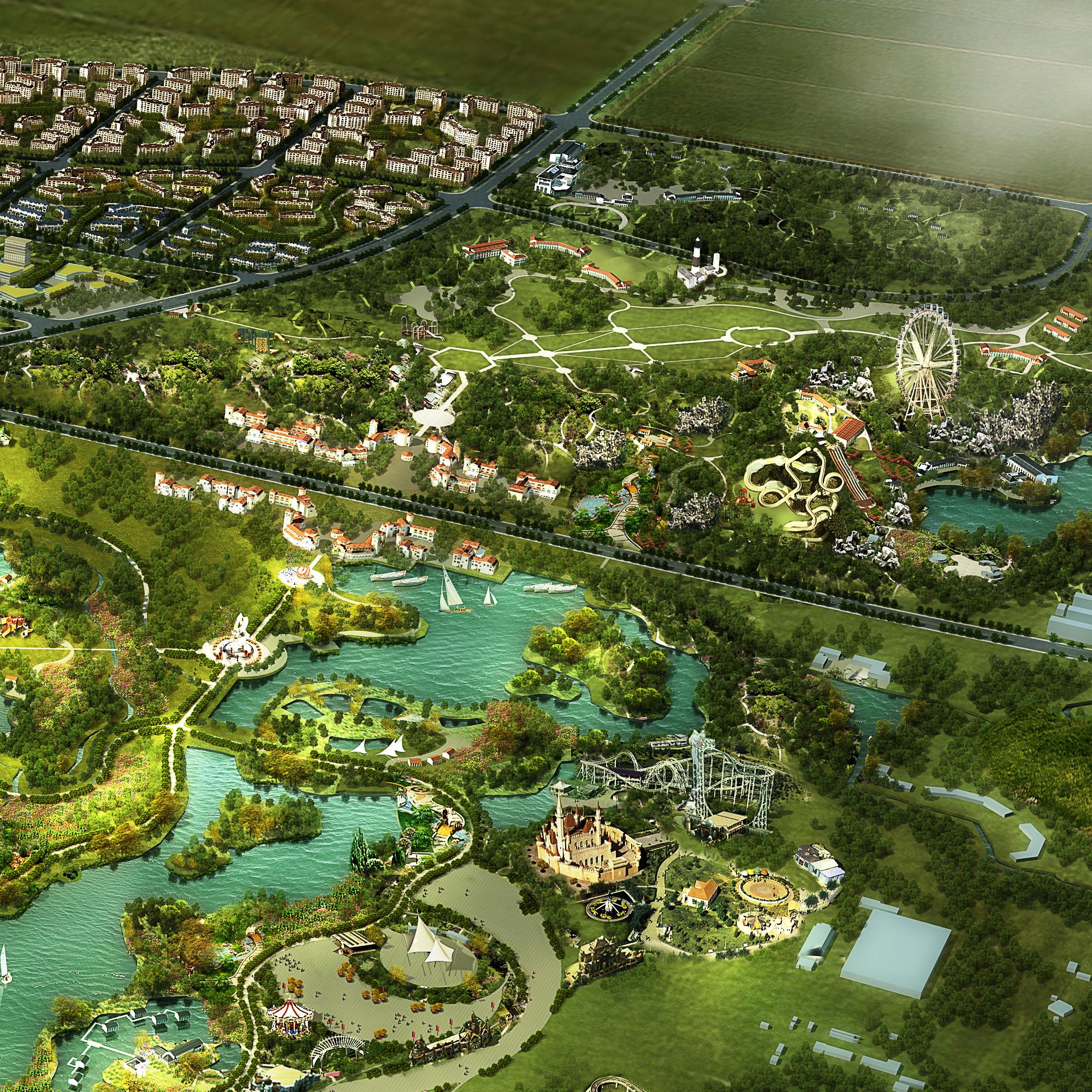 city planning 031 3d model max 206516