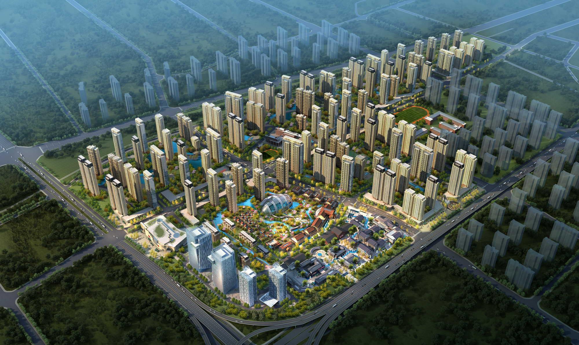 city planning 032 3d model max 206522