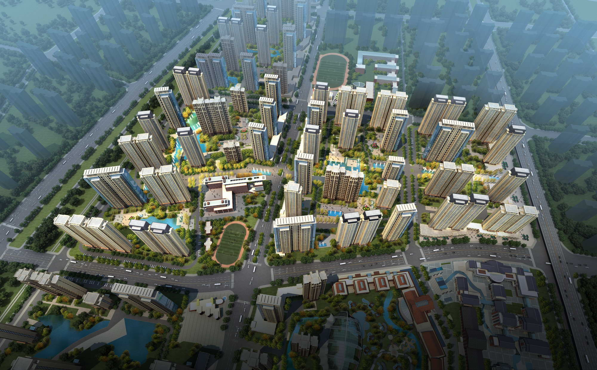 city planning 032 3d model max 206523