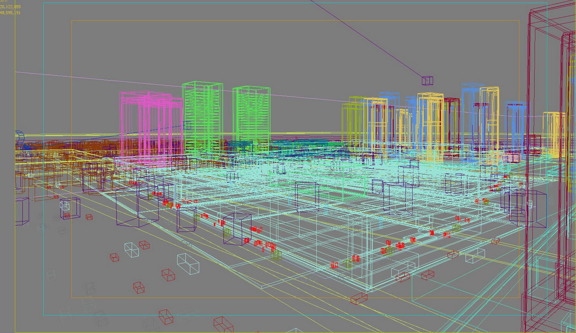city planning 032 3d model max 206524