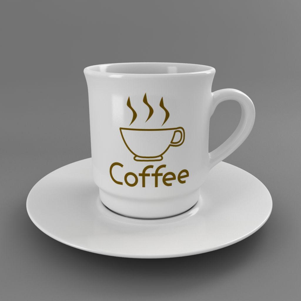 coffee tea cup 003 3d model max fbx jpeg jpg obj 206534