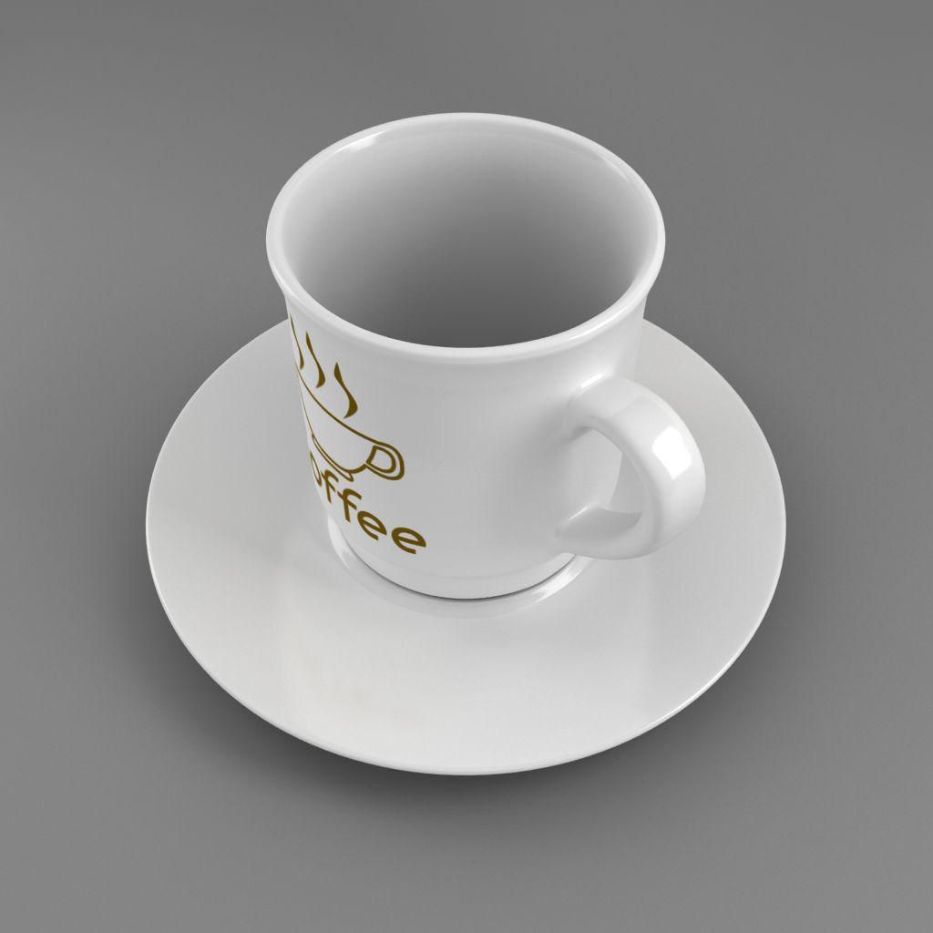 coffee tea cup 003 3d model max fbx jpeg jpg obj 206537