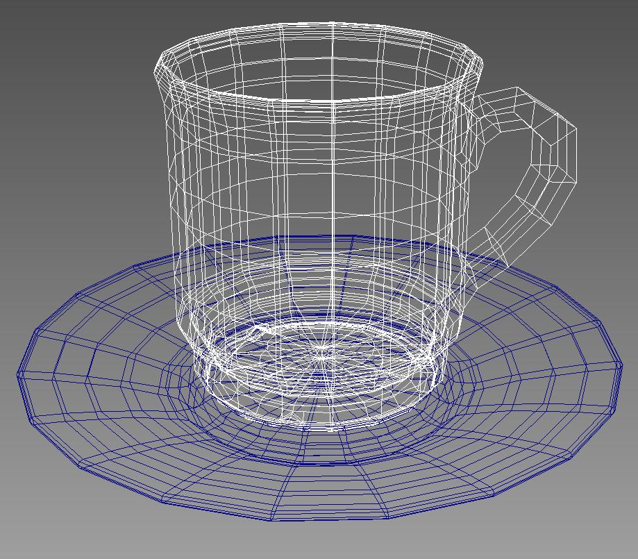 coffee tea cup 003 3d model max fbx jpeg jpg obj 206539