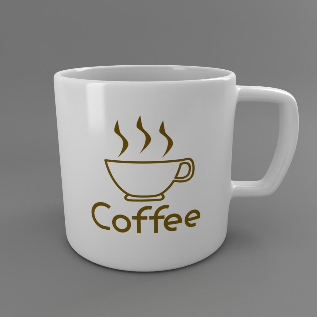 coffee tea cup 002 3d model max fbx jpeg jpg obj 206547